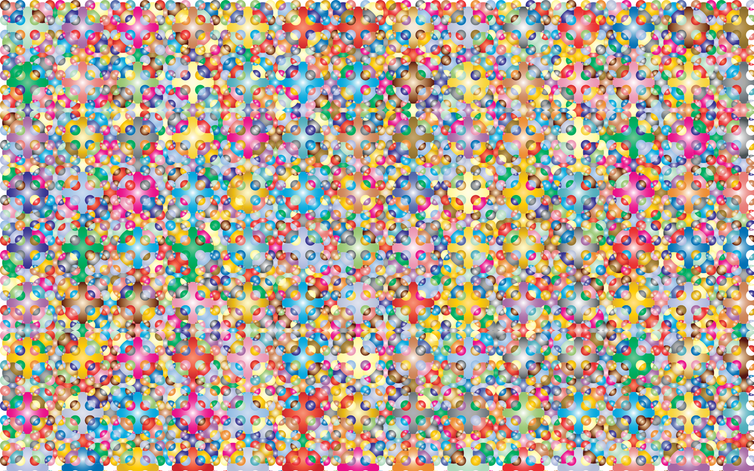 Prismatic Geometric Checkered Pattern 2 by GDJ