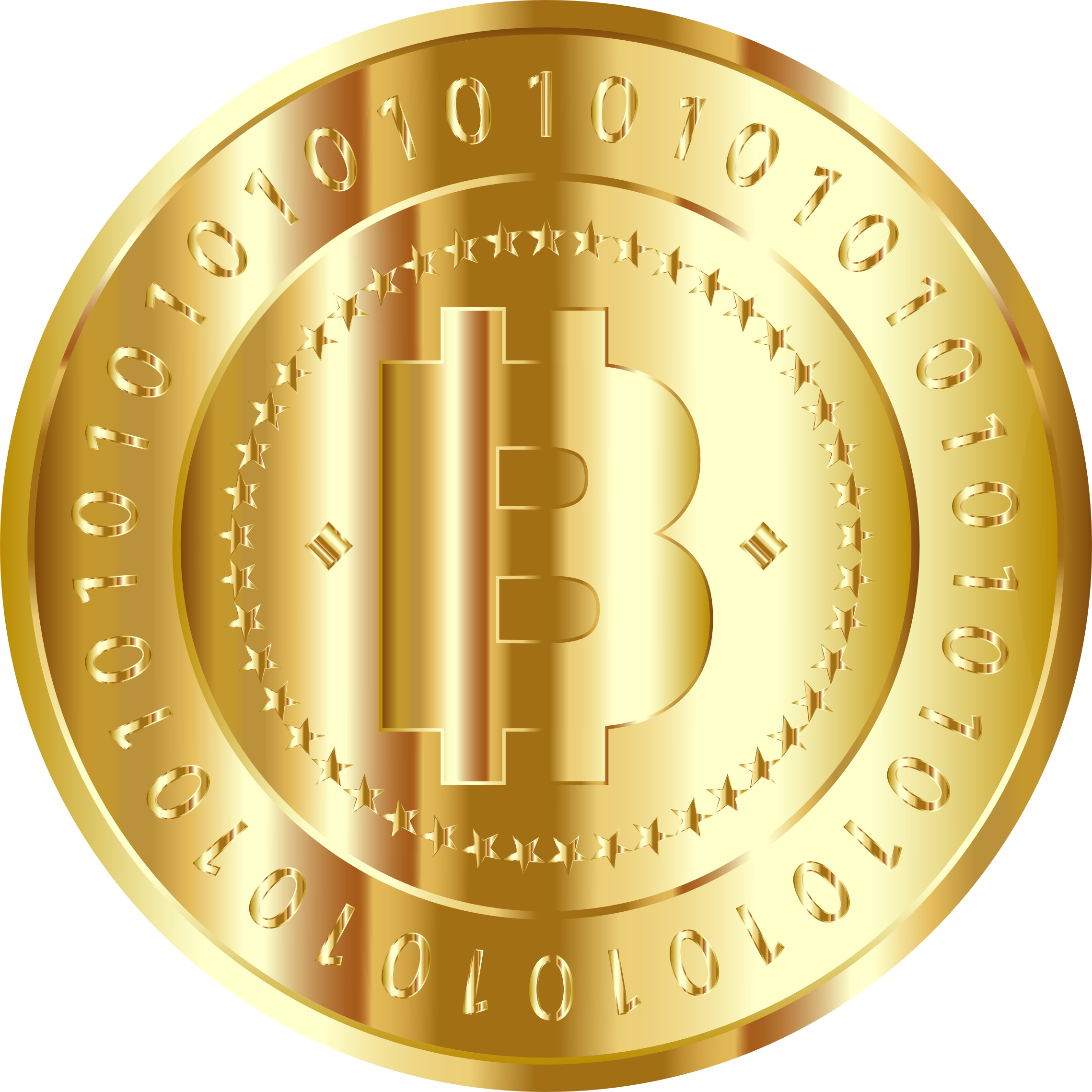 Gold Bitcoin by GDJ