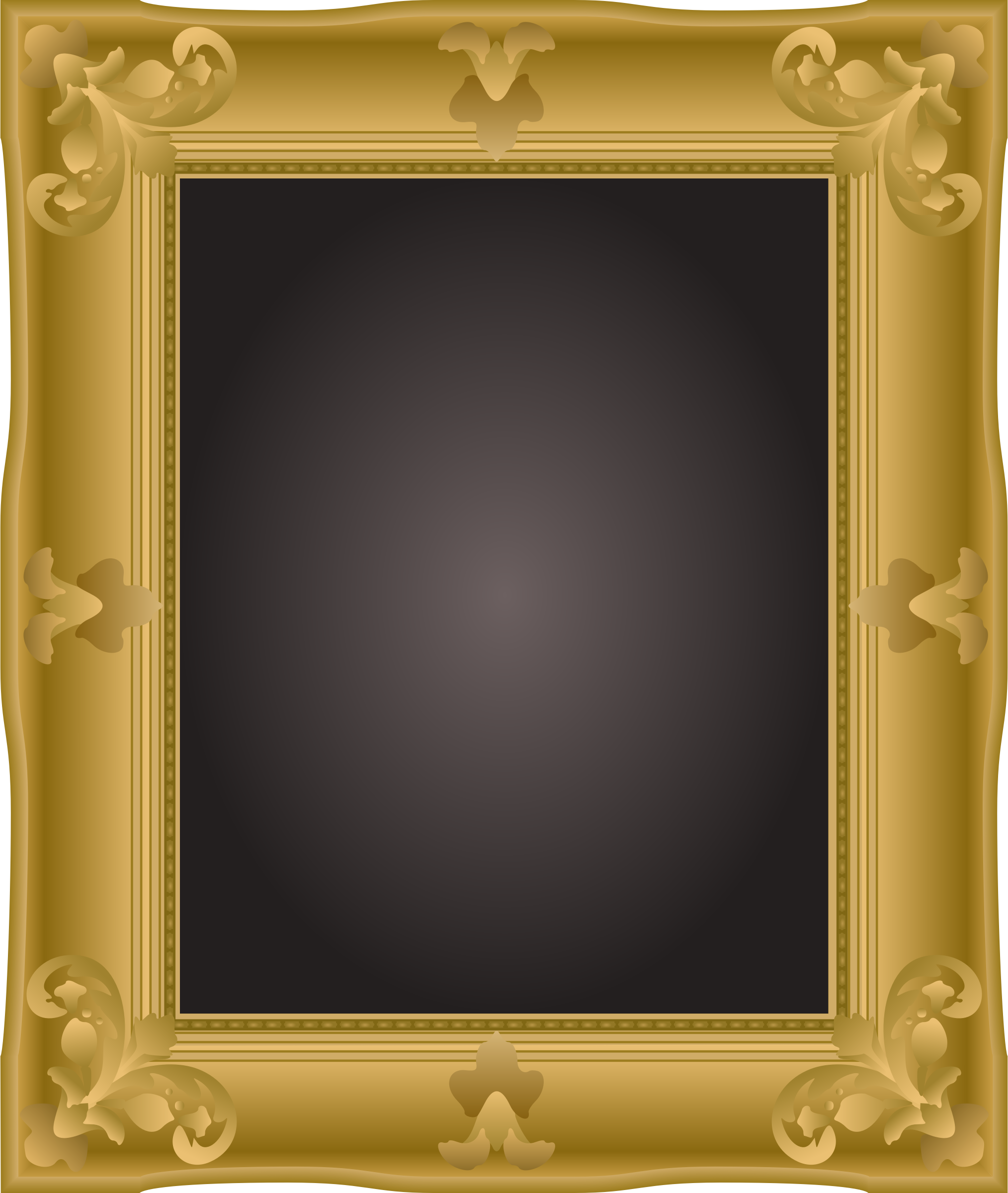 bnsonger47's ornate picture frame redrawn by Firkin