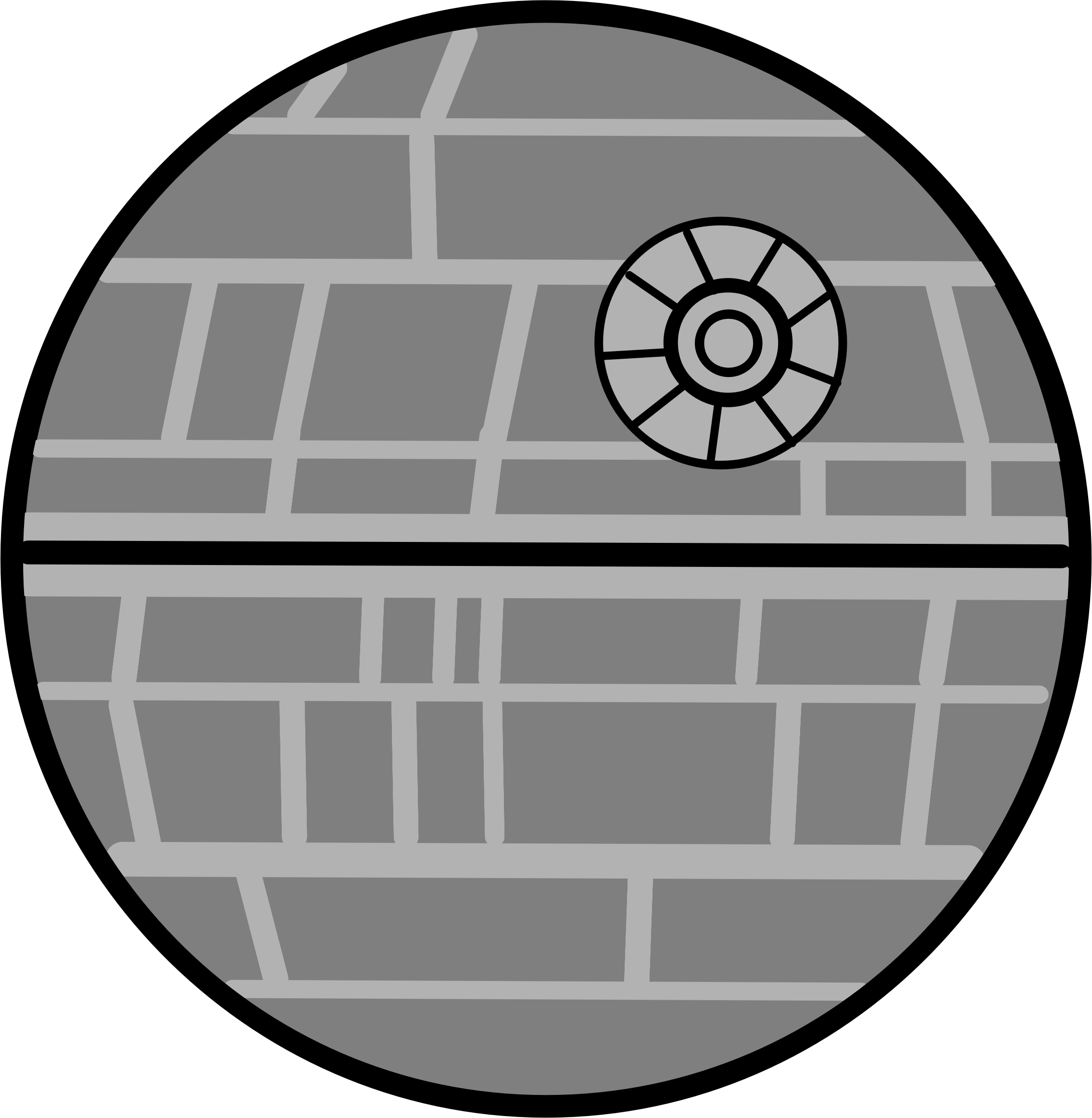 Death Star Bold by edumath1