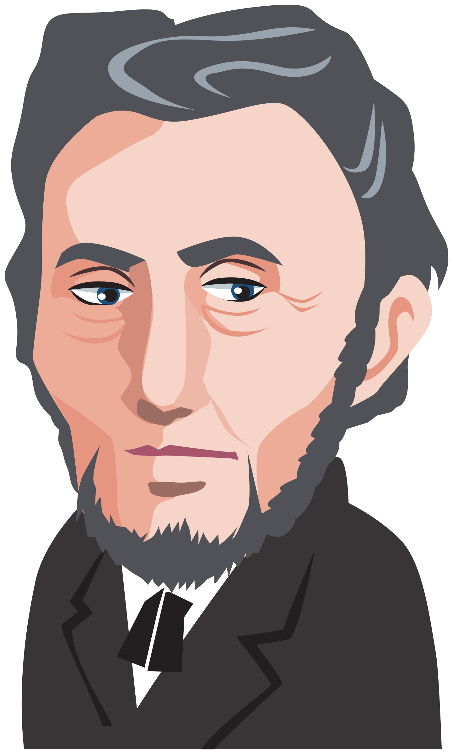 polititian - Abraham Lincoln by Juhele