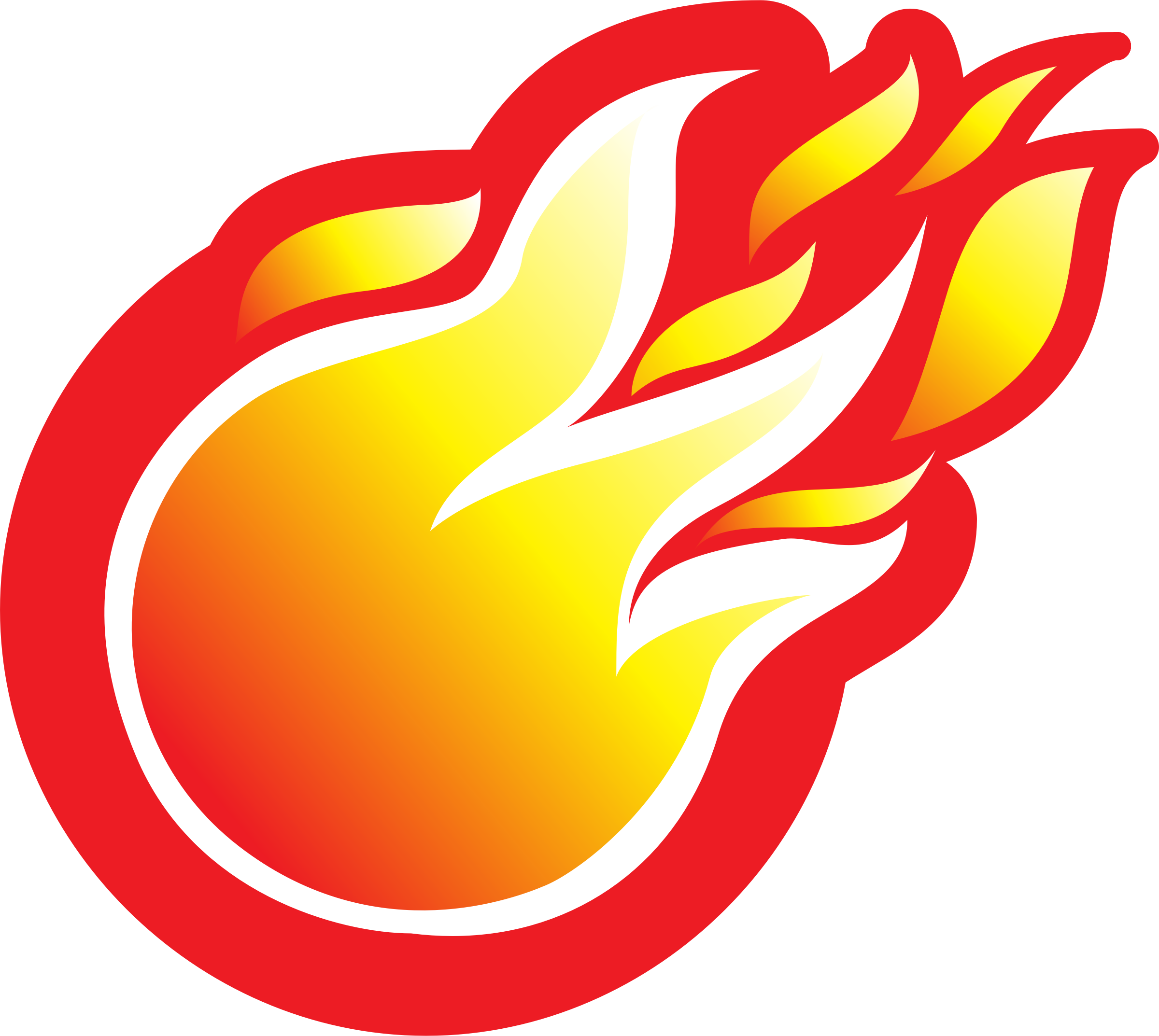 Fire Ball Icon by georges-dahdouh