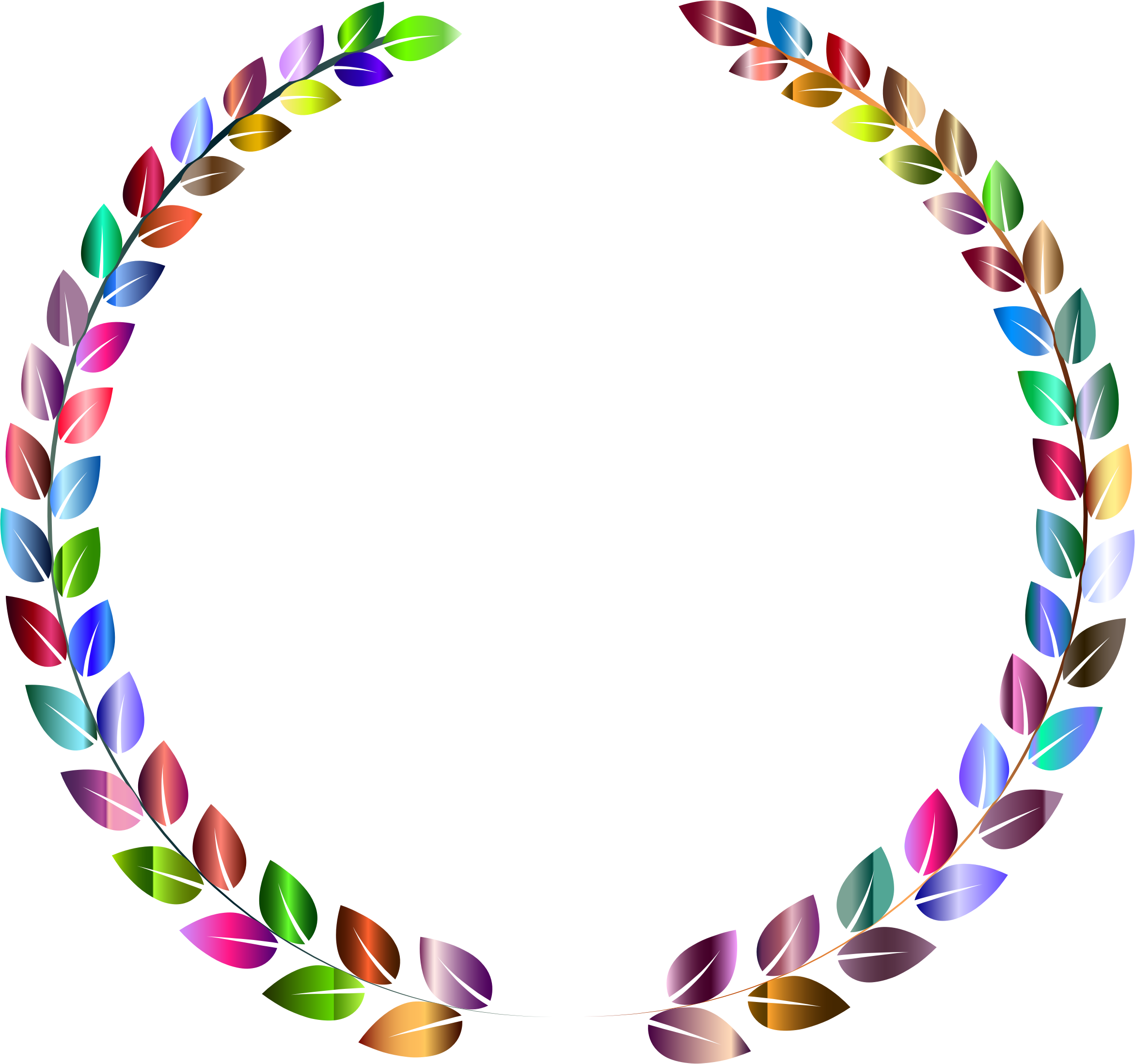 Prismatic Wreath 3 by GDJ