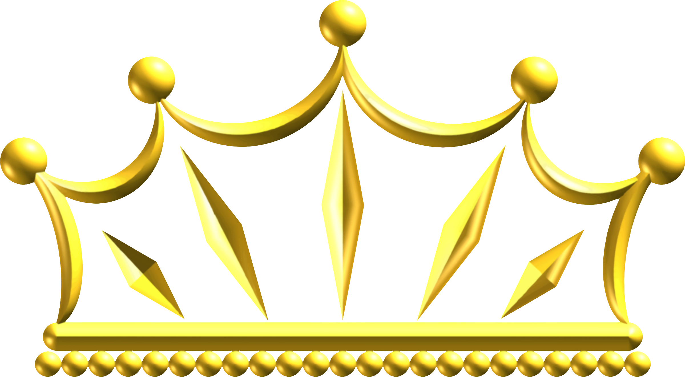 Clipart Gold Crown