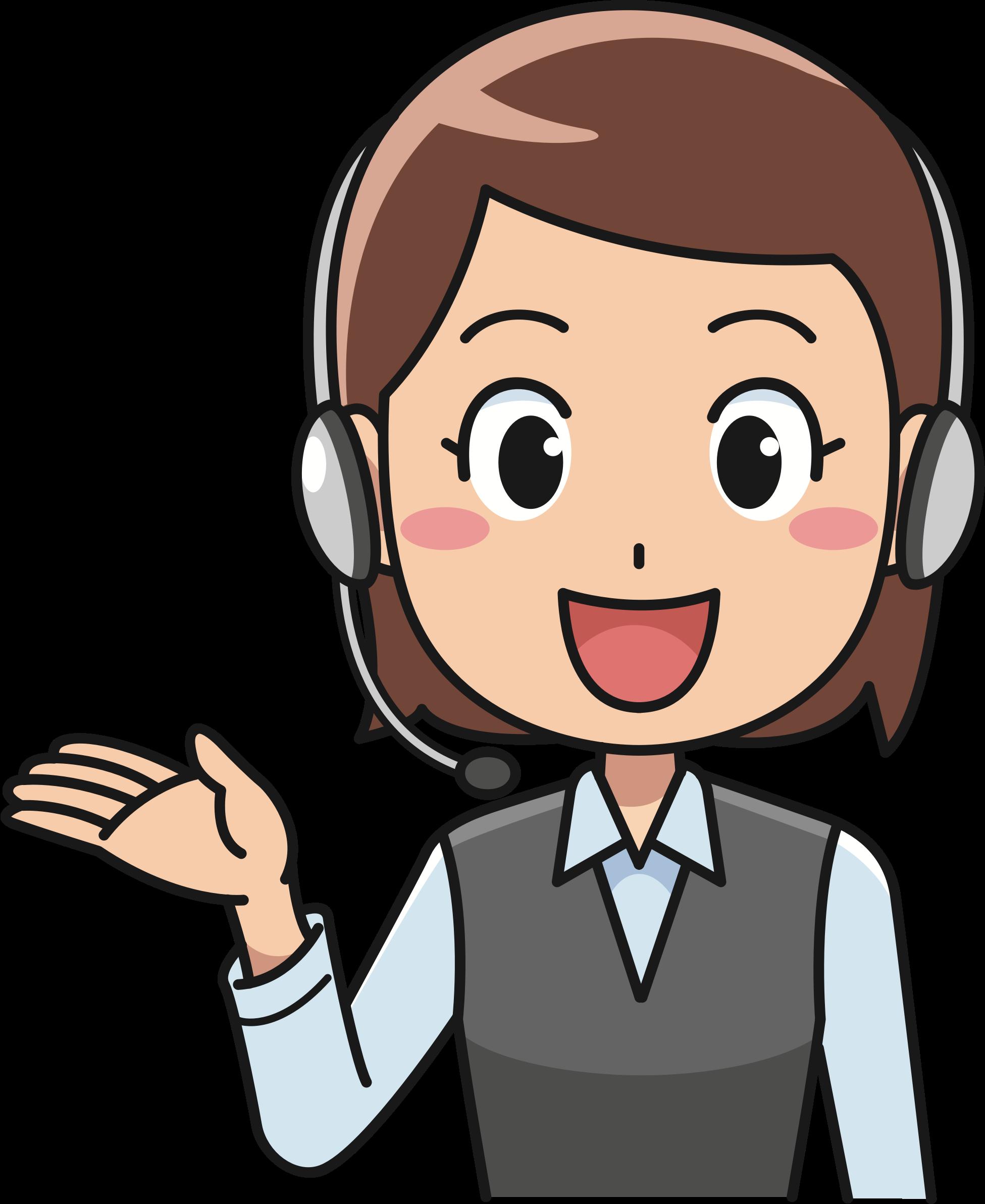 clipart female call centre worker   2 microsoft office clipart search microsoft office clipart downloads