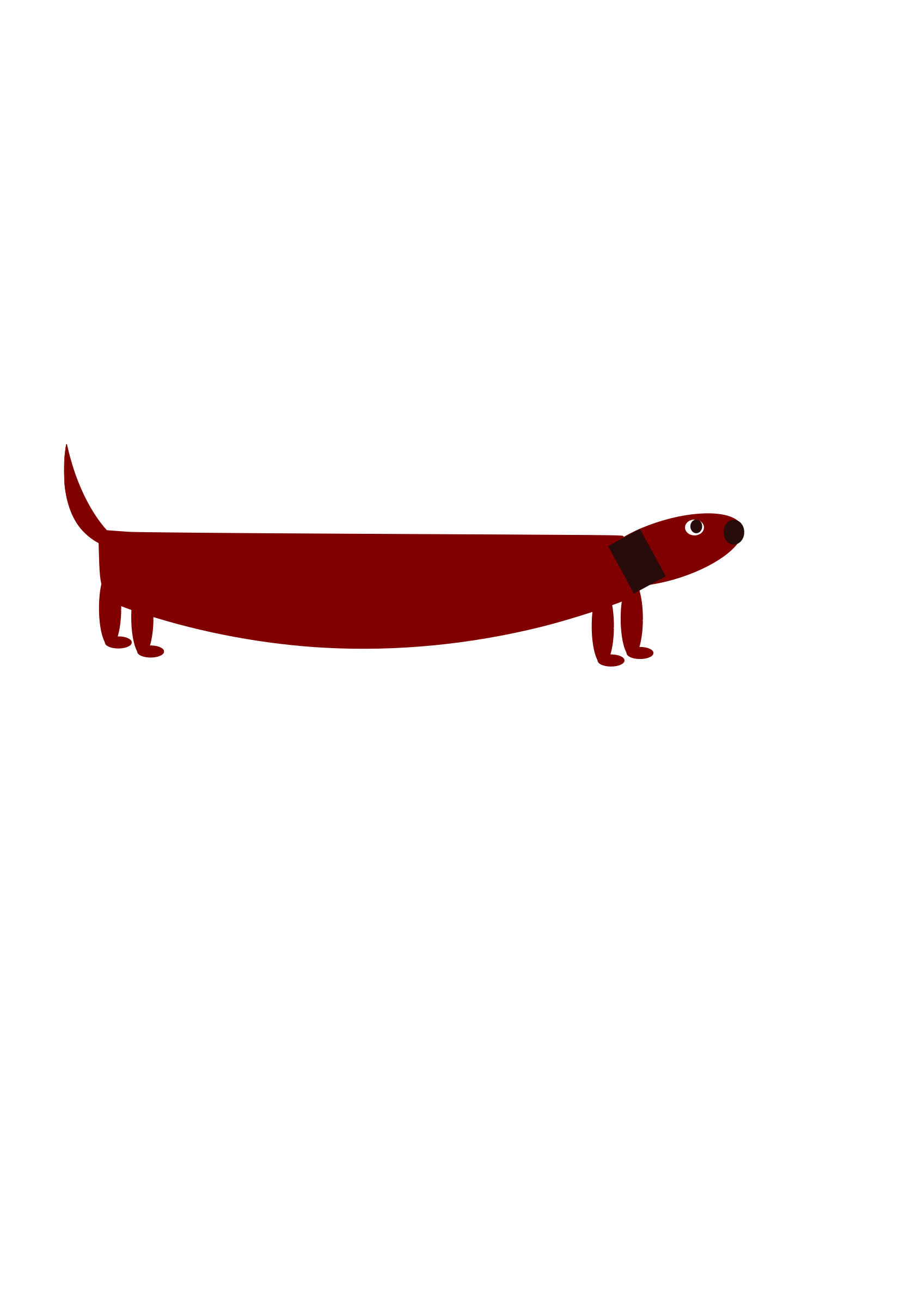 Sausage dog by sonichedgehog
