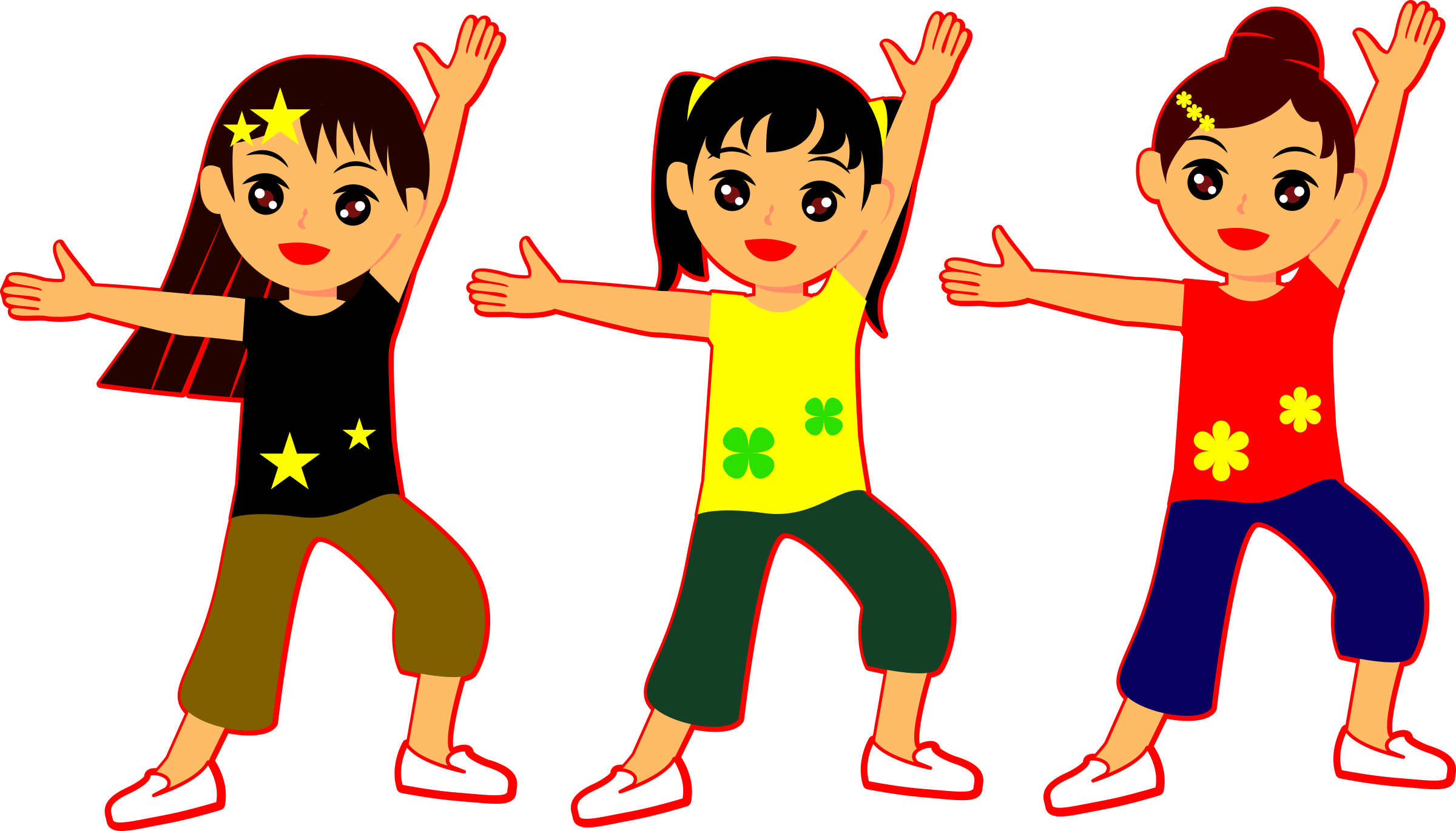 clipart dancing girls rh openclipart org clip art dancing stars clip art dancing shoes