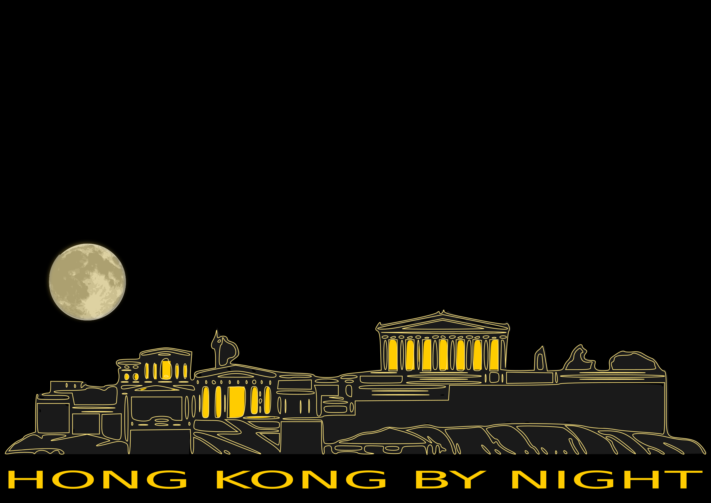HONG KONG BY NIGHT by dordy