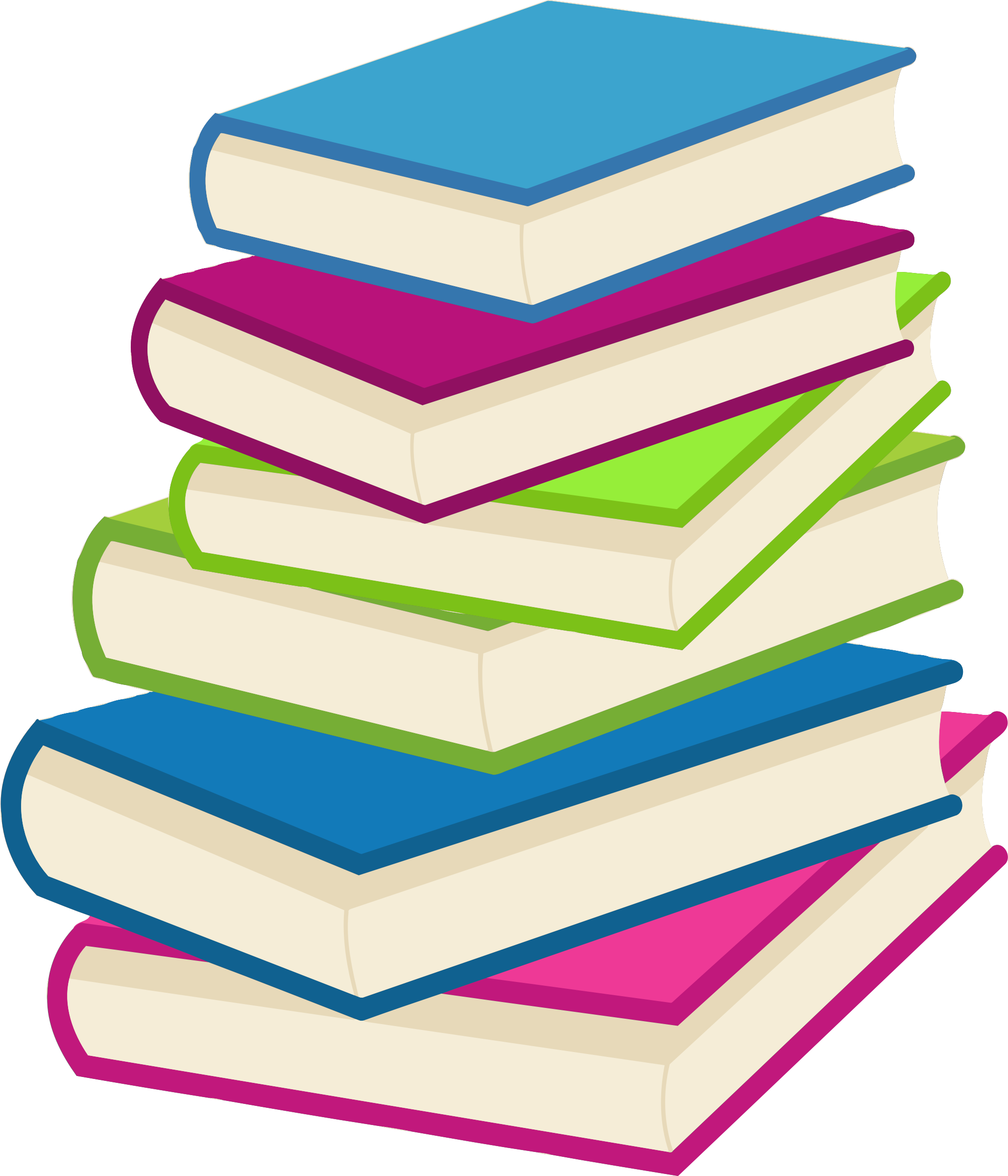 Clipart Stack Of Books 2