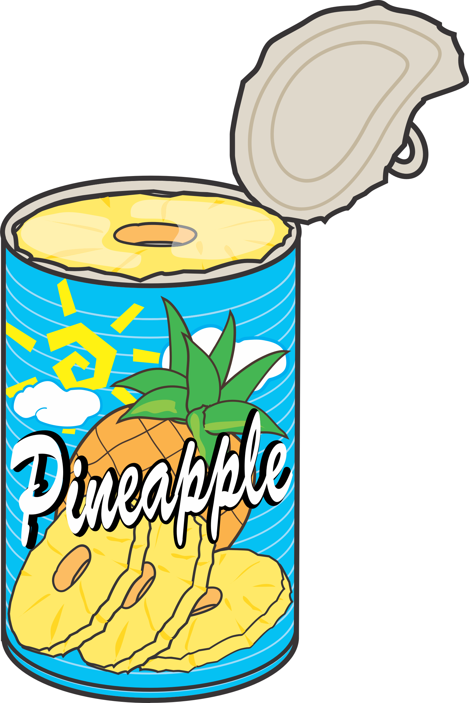 clipart can of pineapple pineapple clip art images free pineapple clip art free