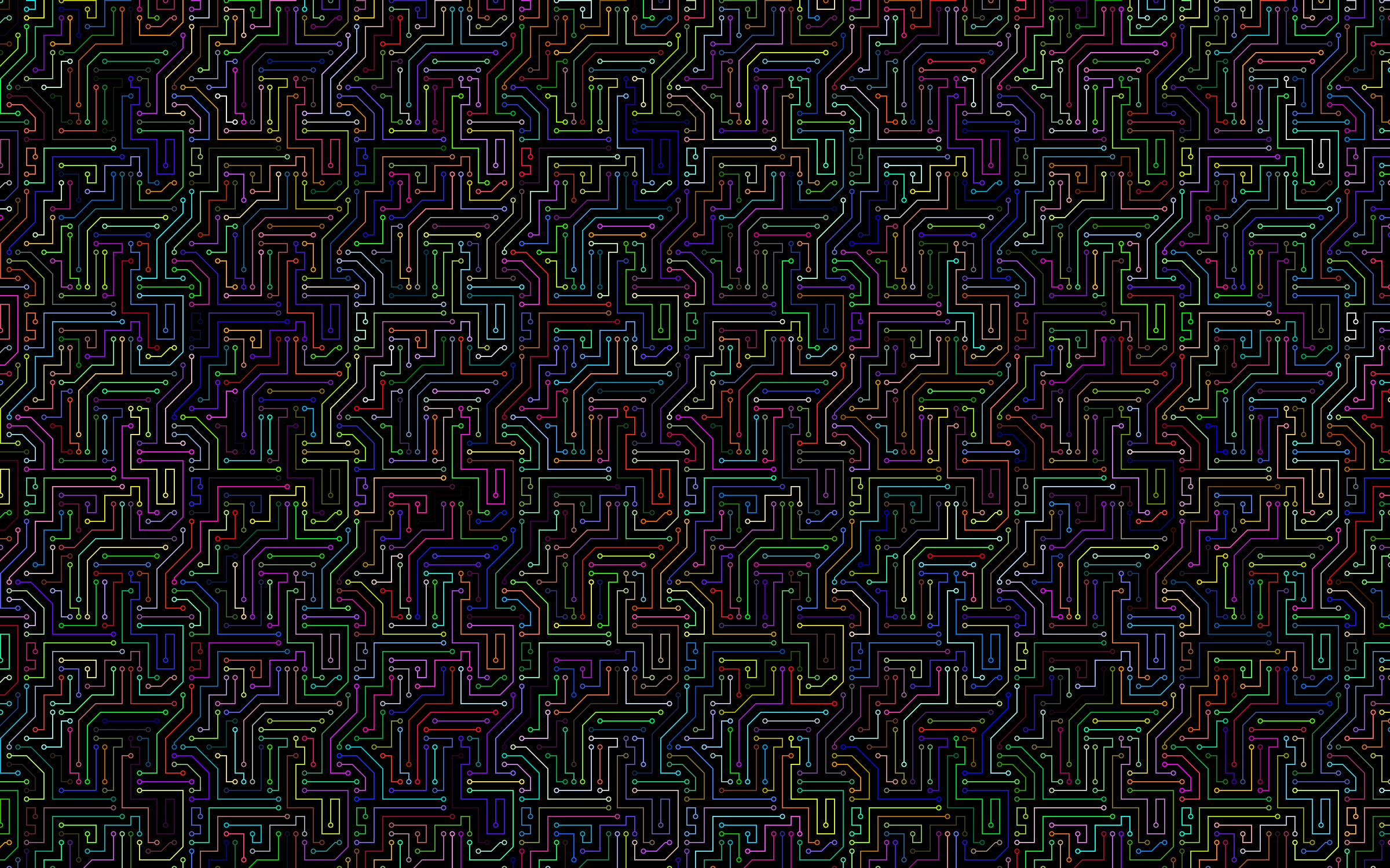clipart prismatic circuit board pattern