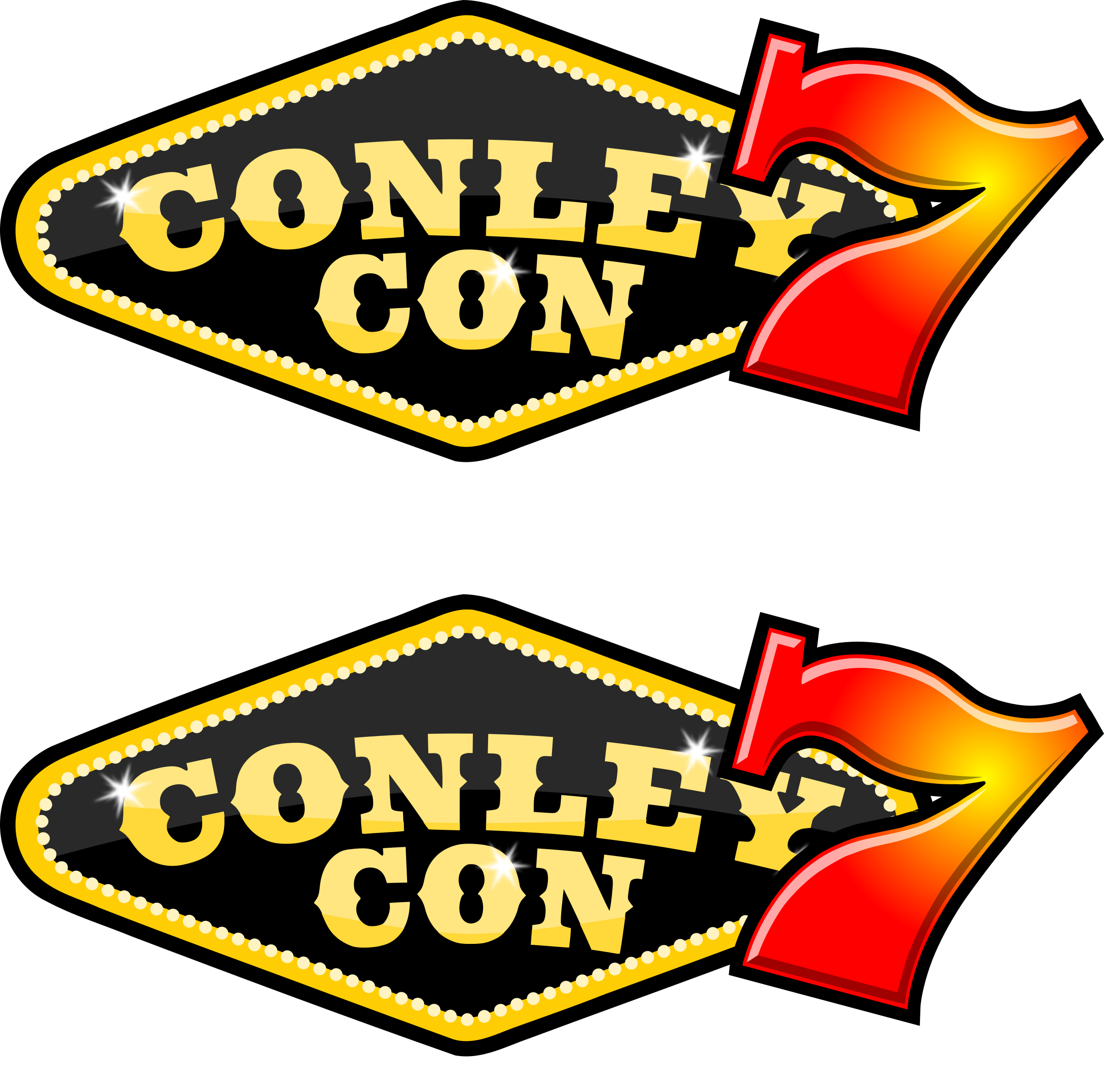 Casino-themed ConleyCon sticker by dear_theophilus