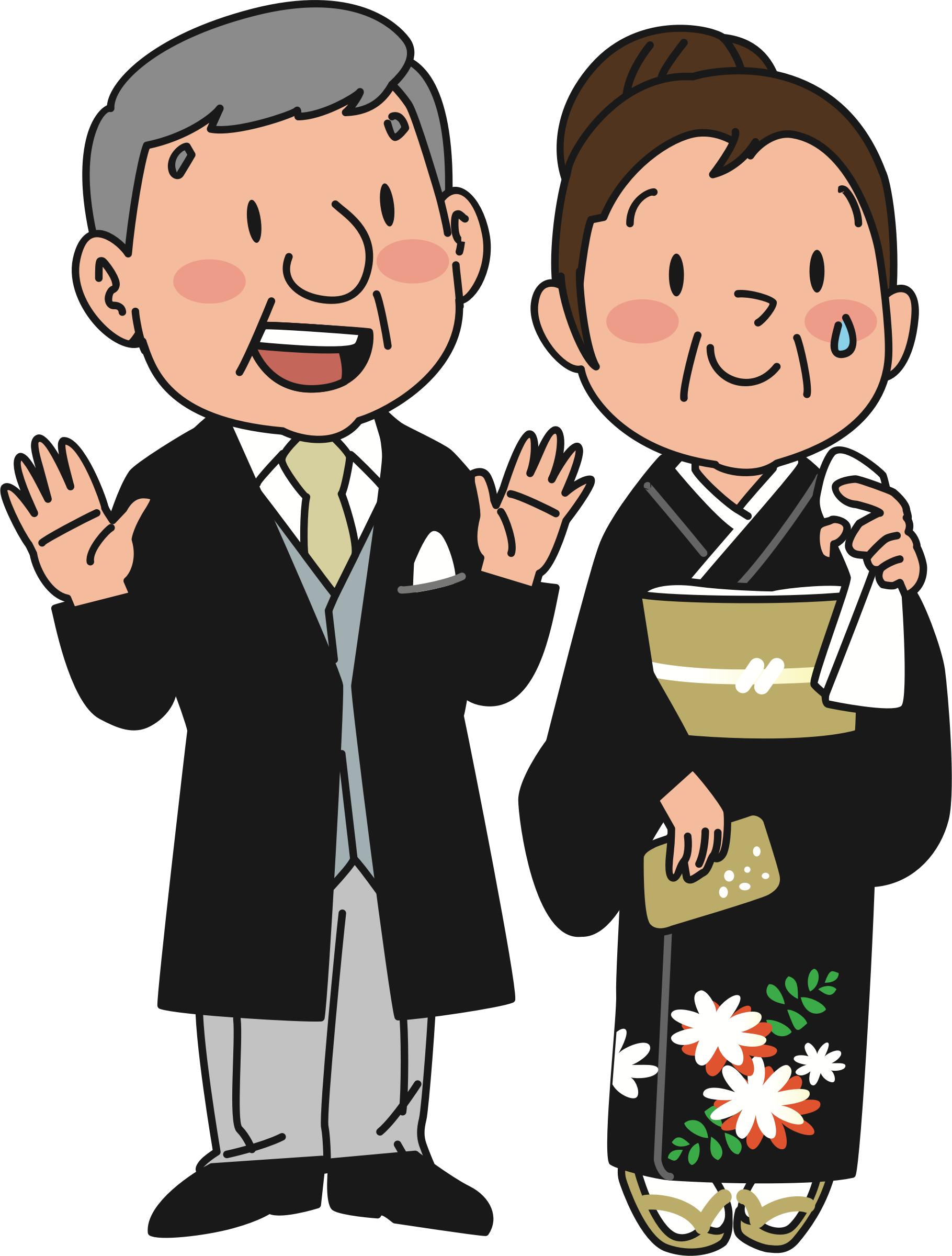 clipart parents at wedding rh openclipart org clipart of patients clipart of parents and child