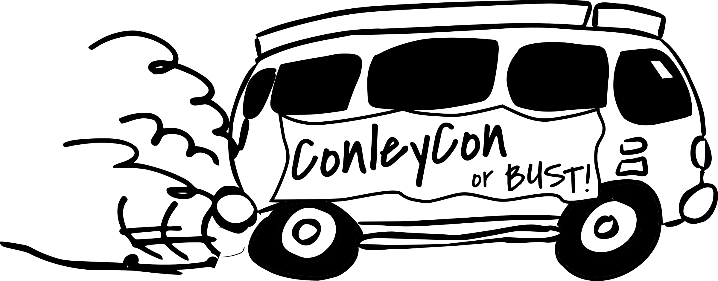 ConleyCon Van, black and white by dear_theophilus