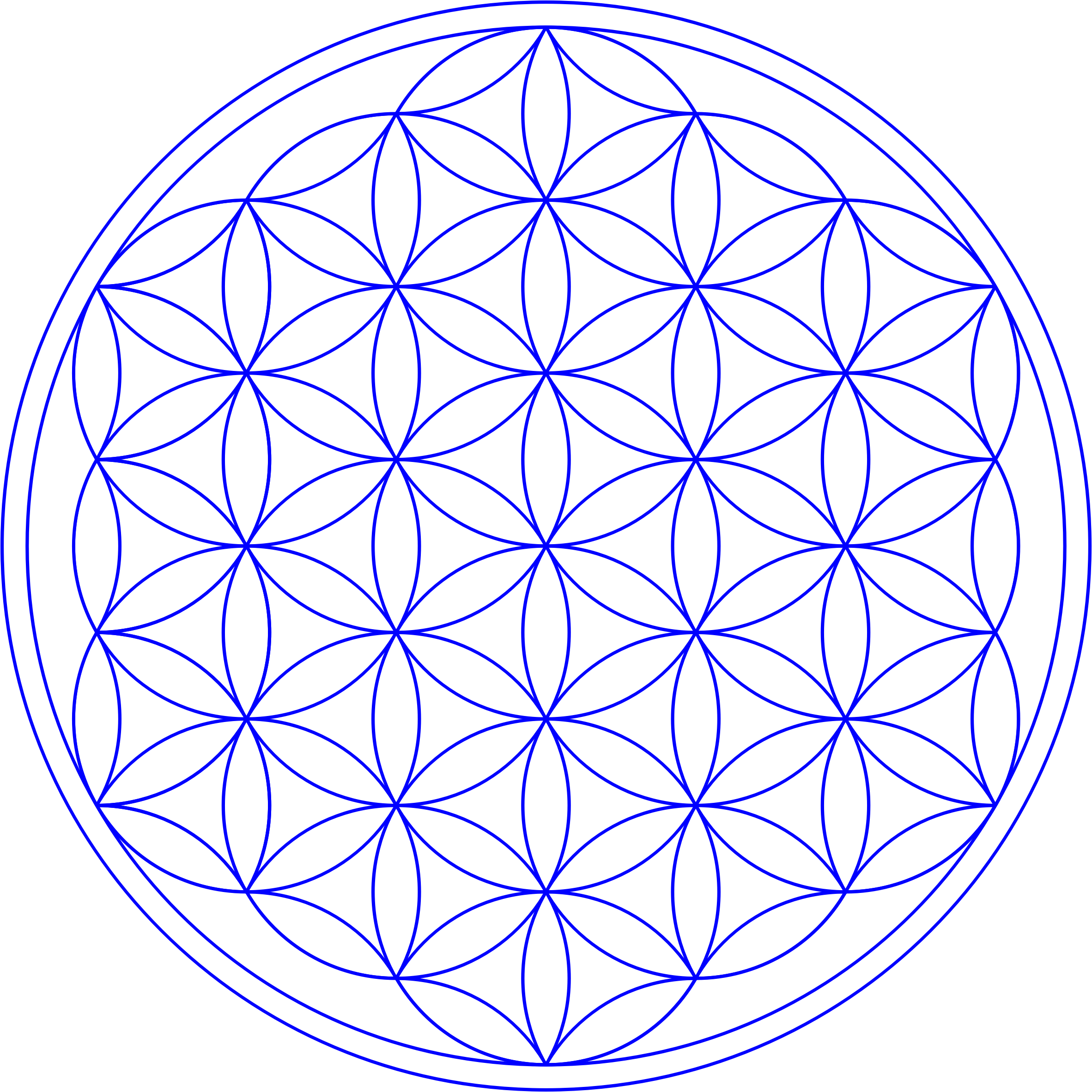 Flower of Life by Manuela.
