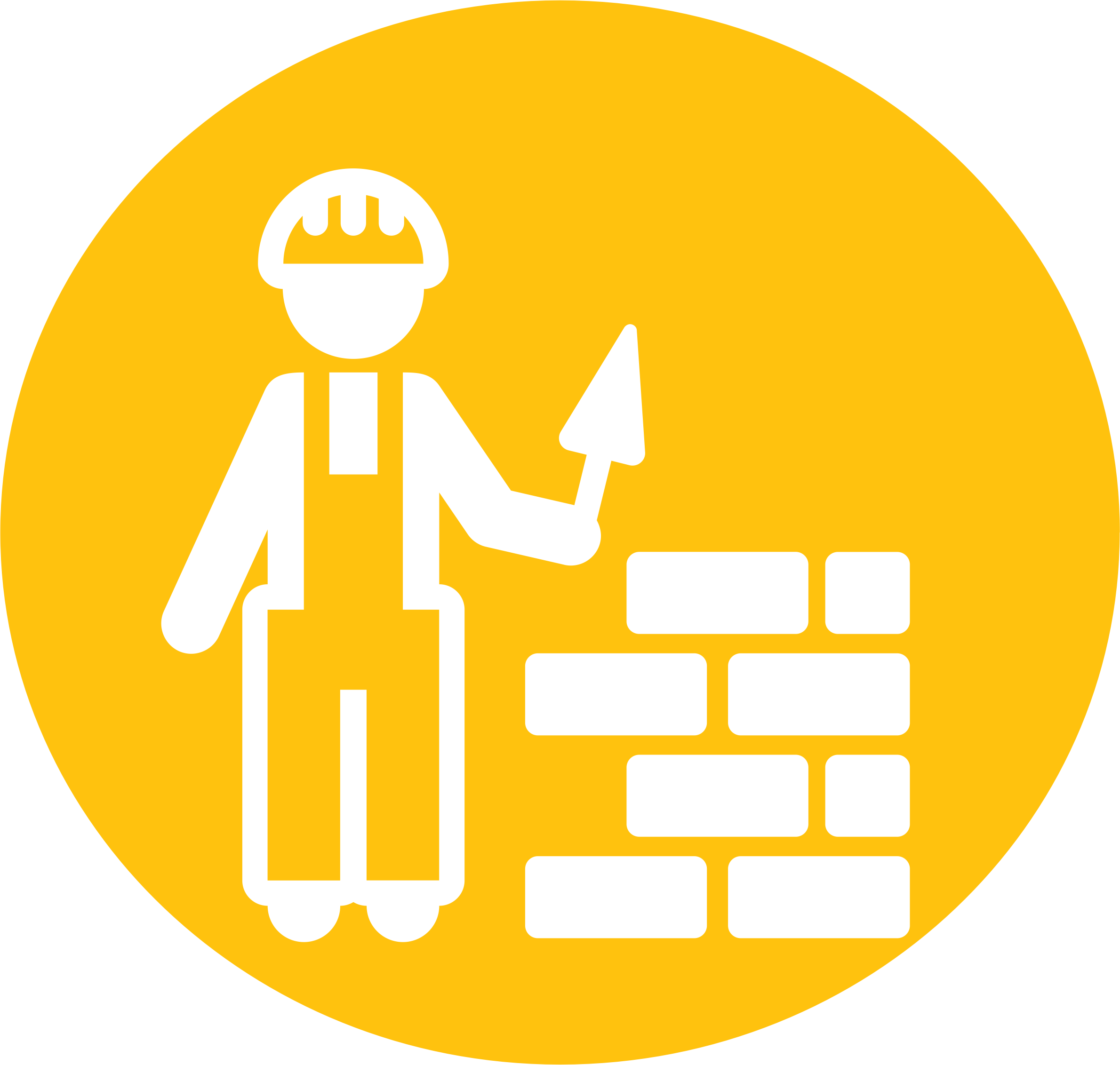 Mason Bricklayer Pictogram by SunKing2