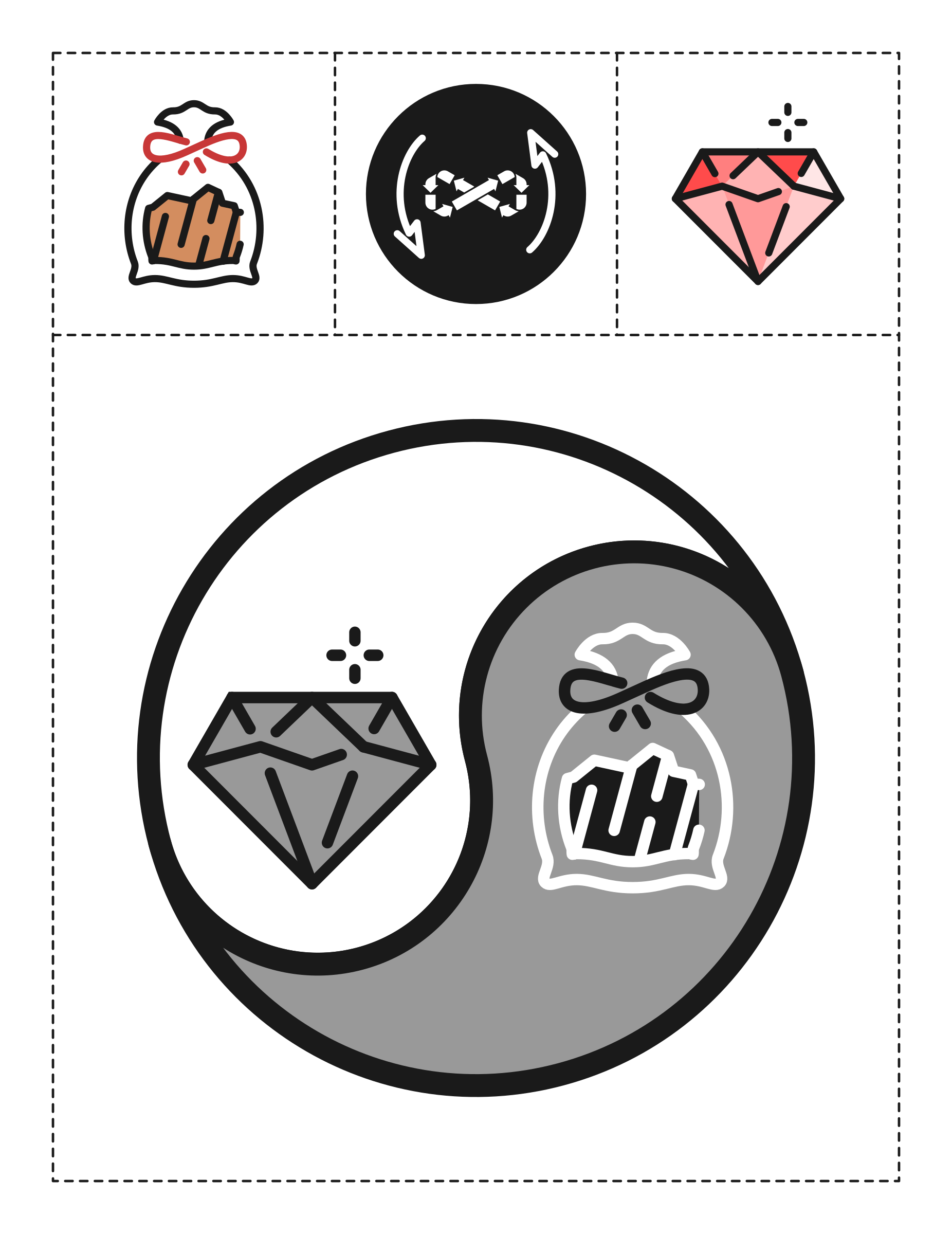 Recycled theme icons by m1981