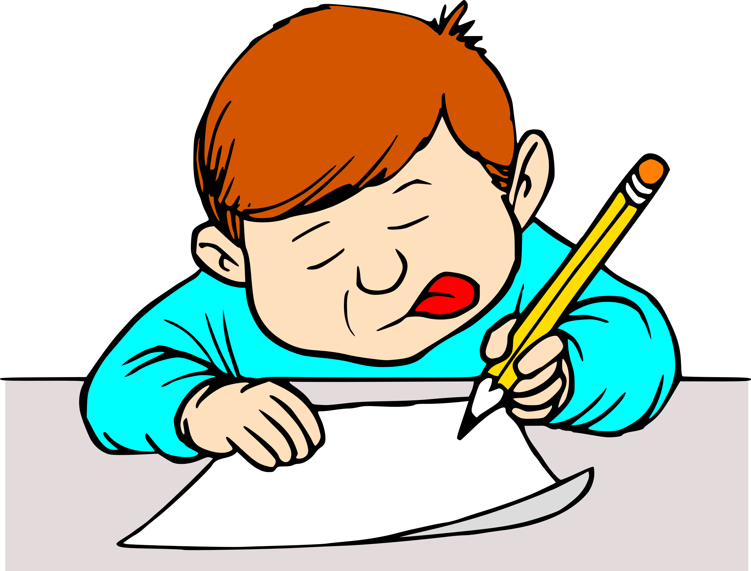 clipart student writing rh openclipart org student writing clipart black and white student writing clipart black and white