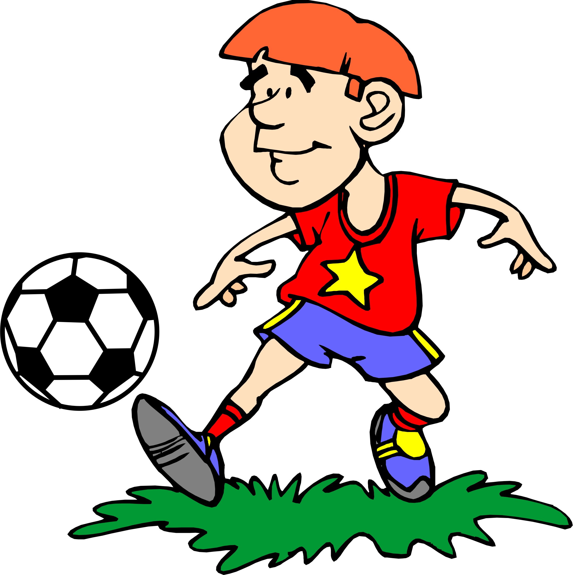 clipart soccer player 4 rh openclipart org soccer player clipart vector soccer player clipart vector