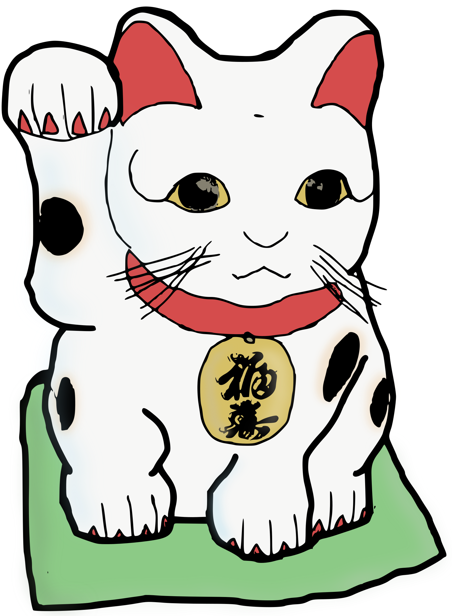Maneki Neko - Colour by j4p4n