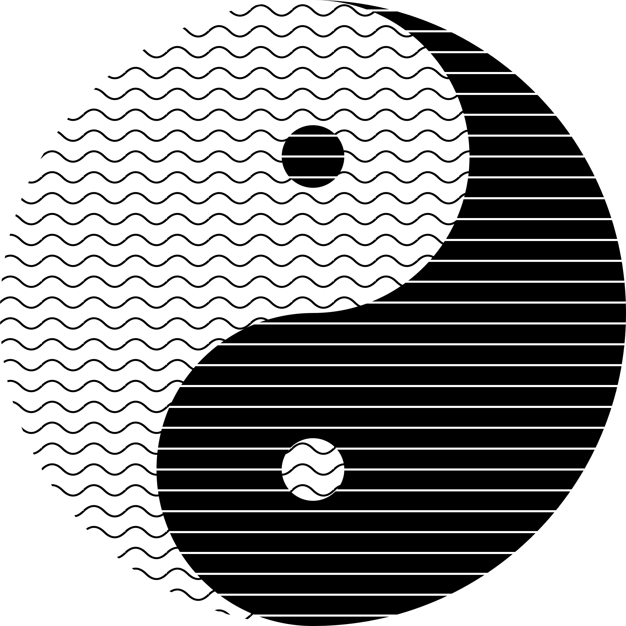 Yin Yang Waves by JayNick