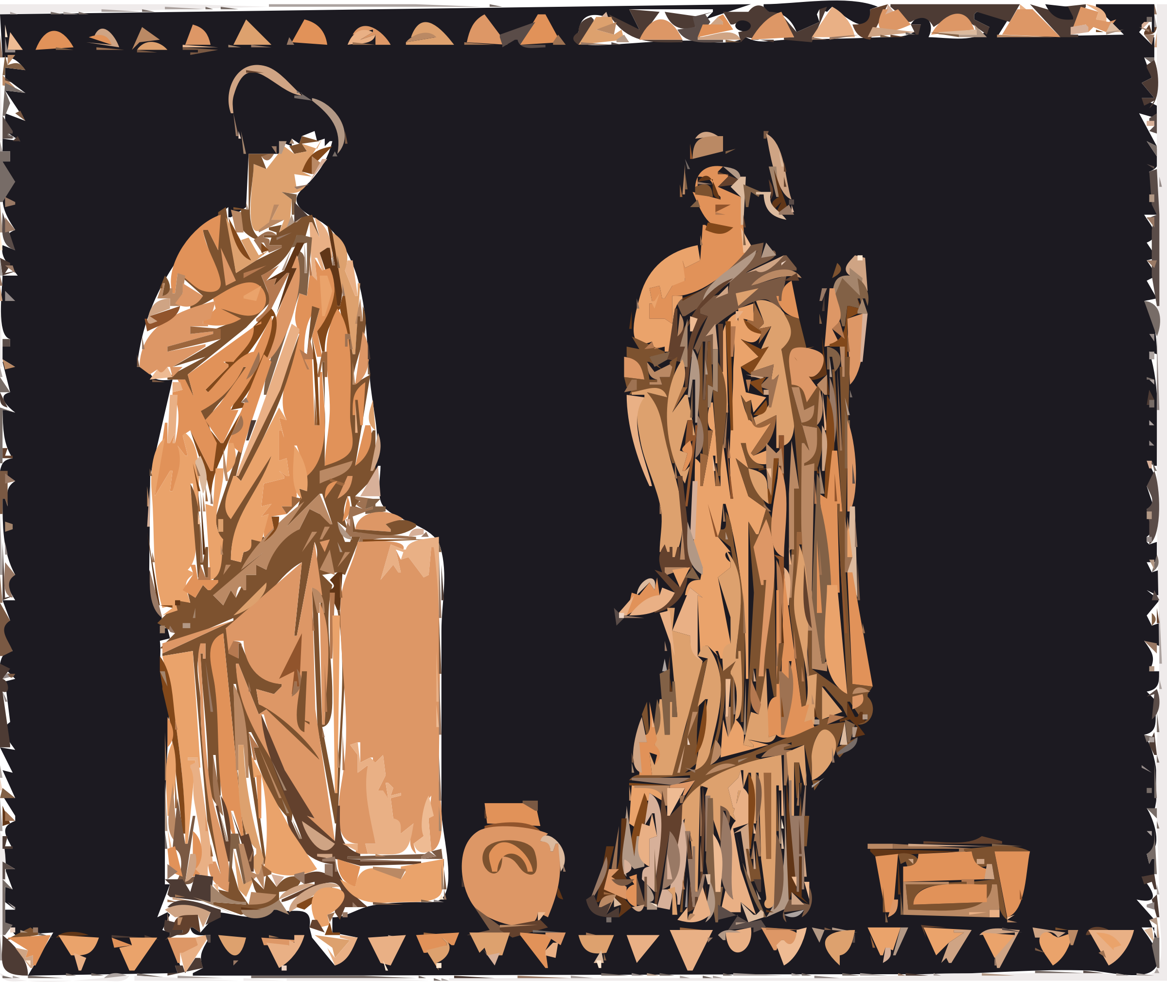 Athenian women by Thunder10099