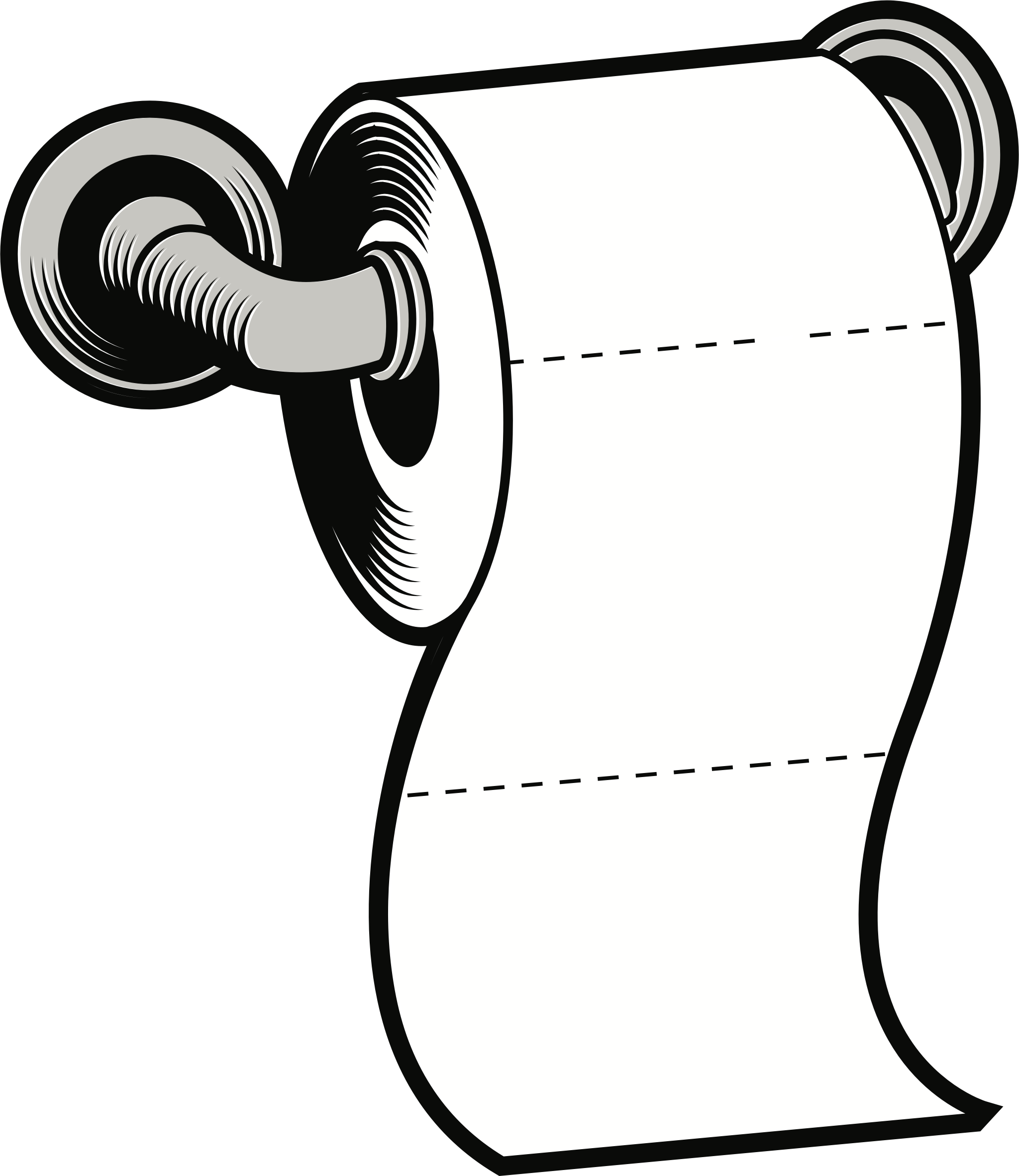 clipart toilet paper rh openclipart org toilet tissue clipart toilet paper holder clipart