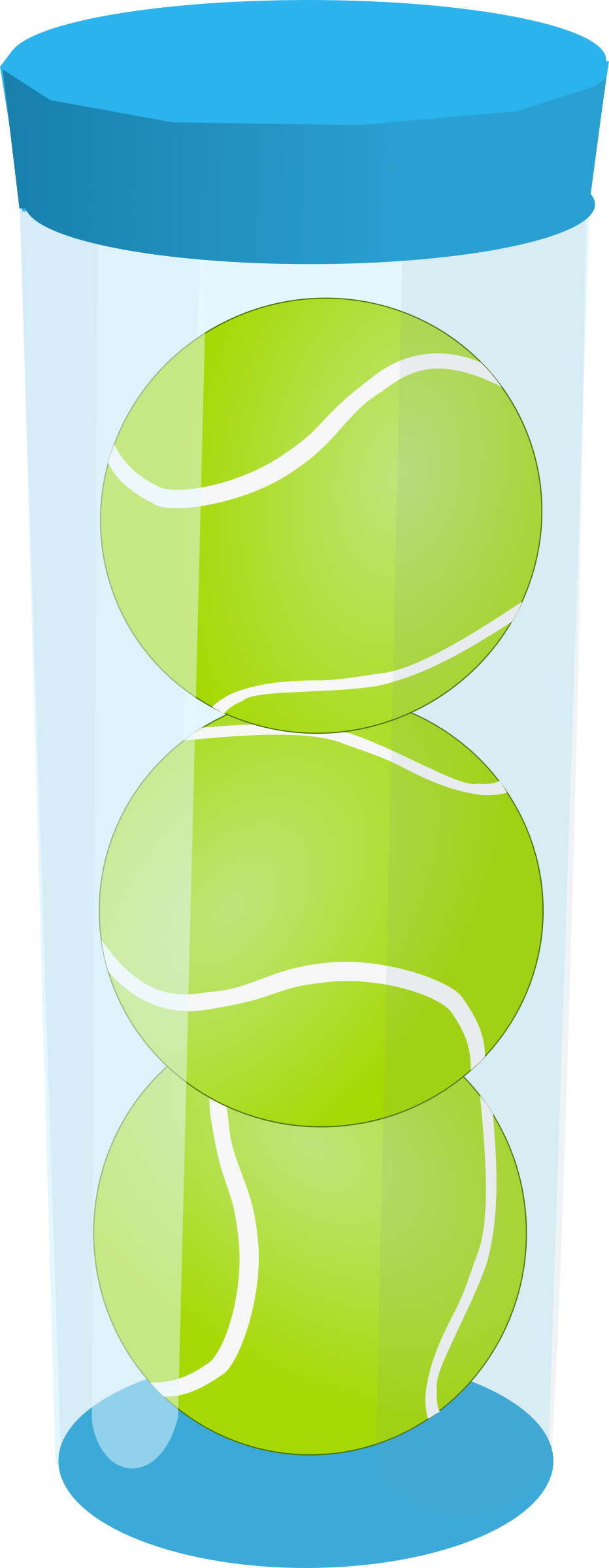 Tennis Ball Tube by j4p4n