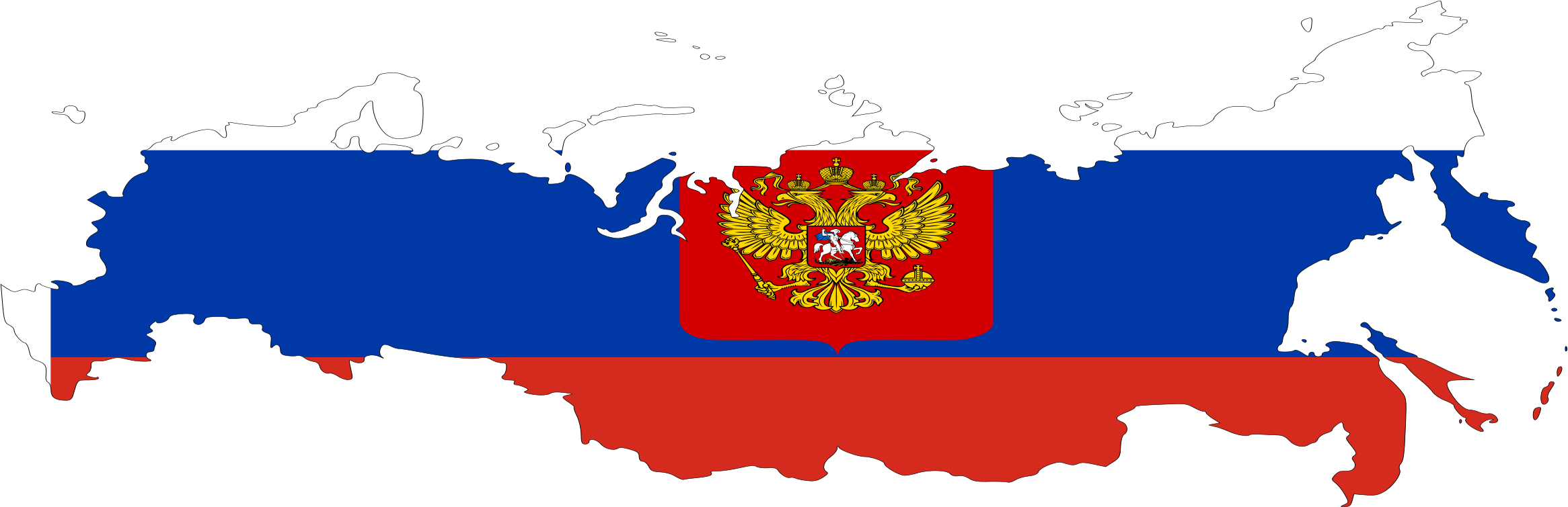 Russian flag by Issi