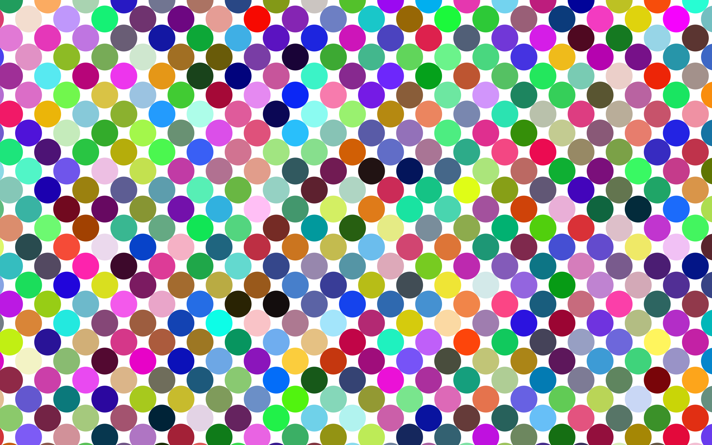 Prismatic Circles Pattern by GDJ