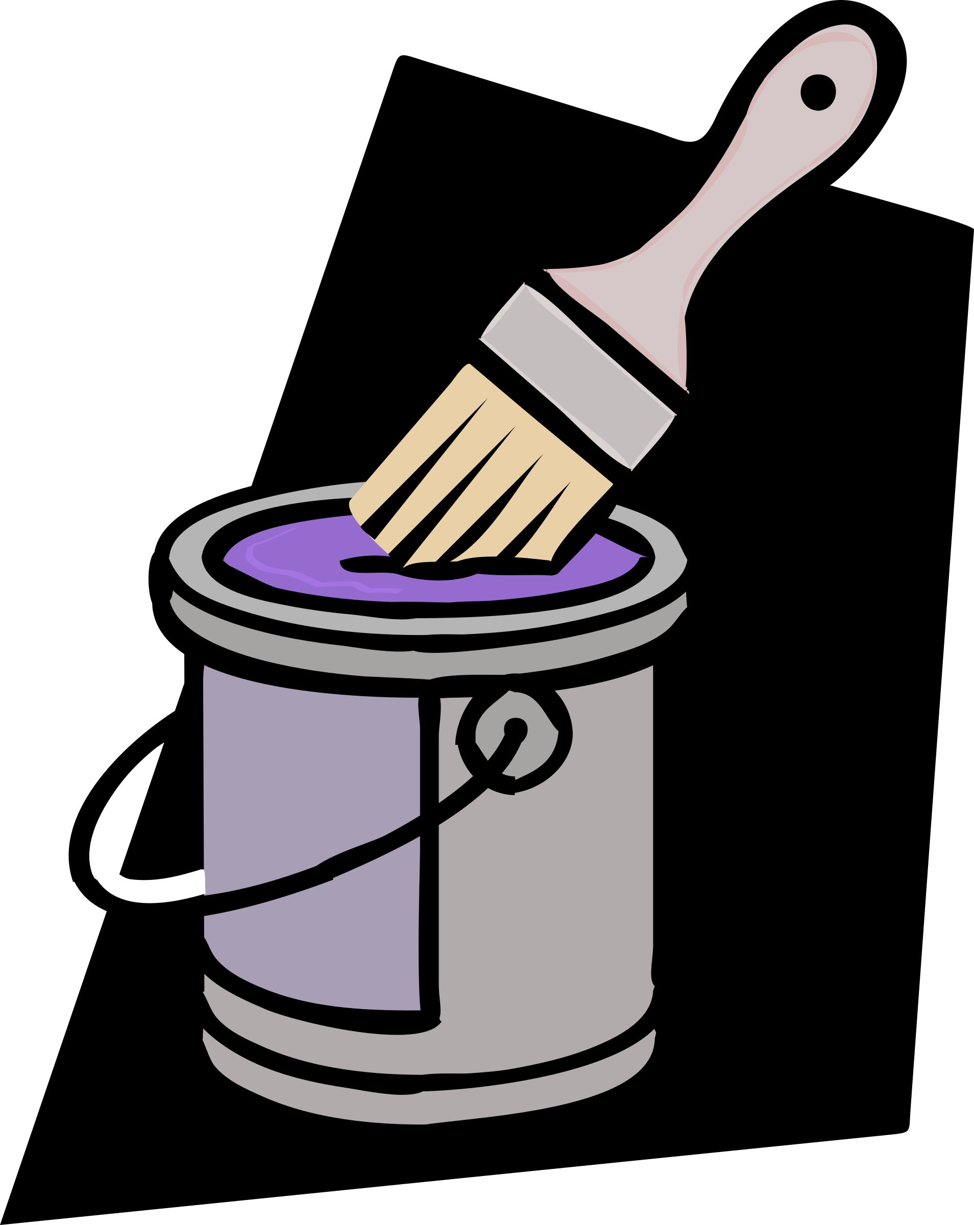 Purple Paint Can - Remix by j4p4n