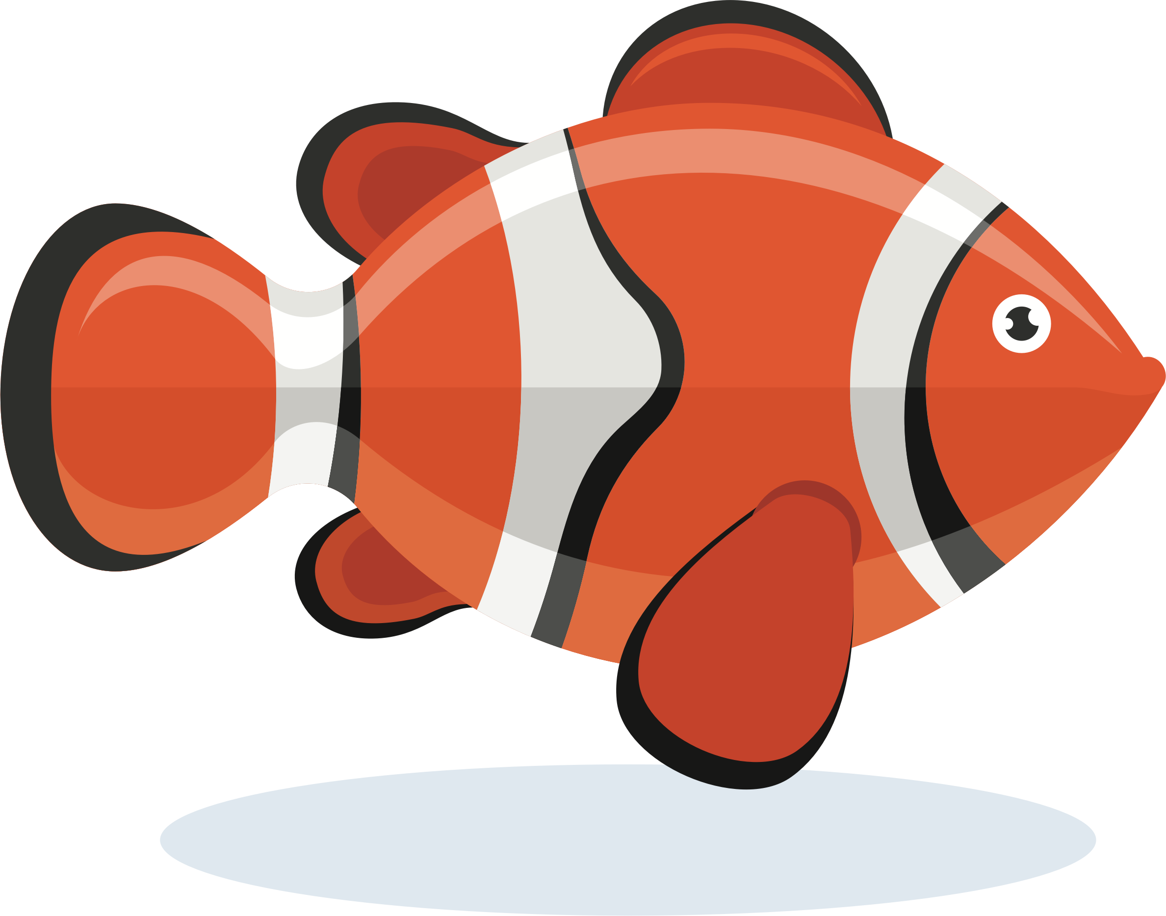 Clownfish by oksmith