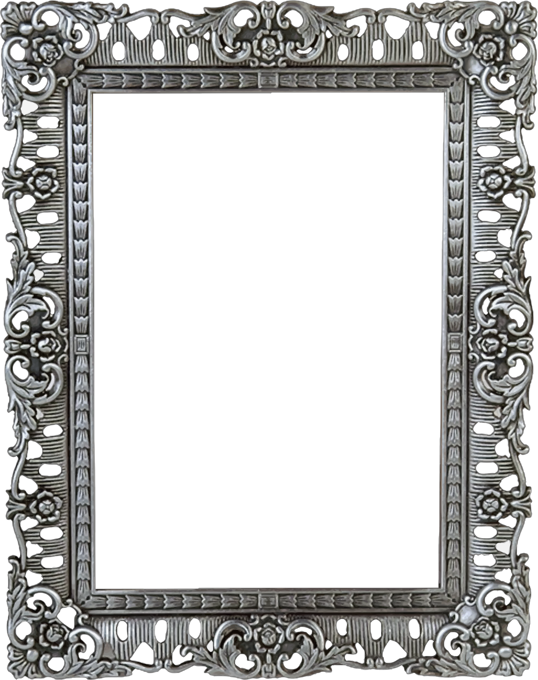 Black Ornate Frame Png. Ornate Frame Border Clipart Black Png A ...
