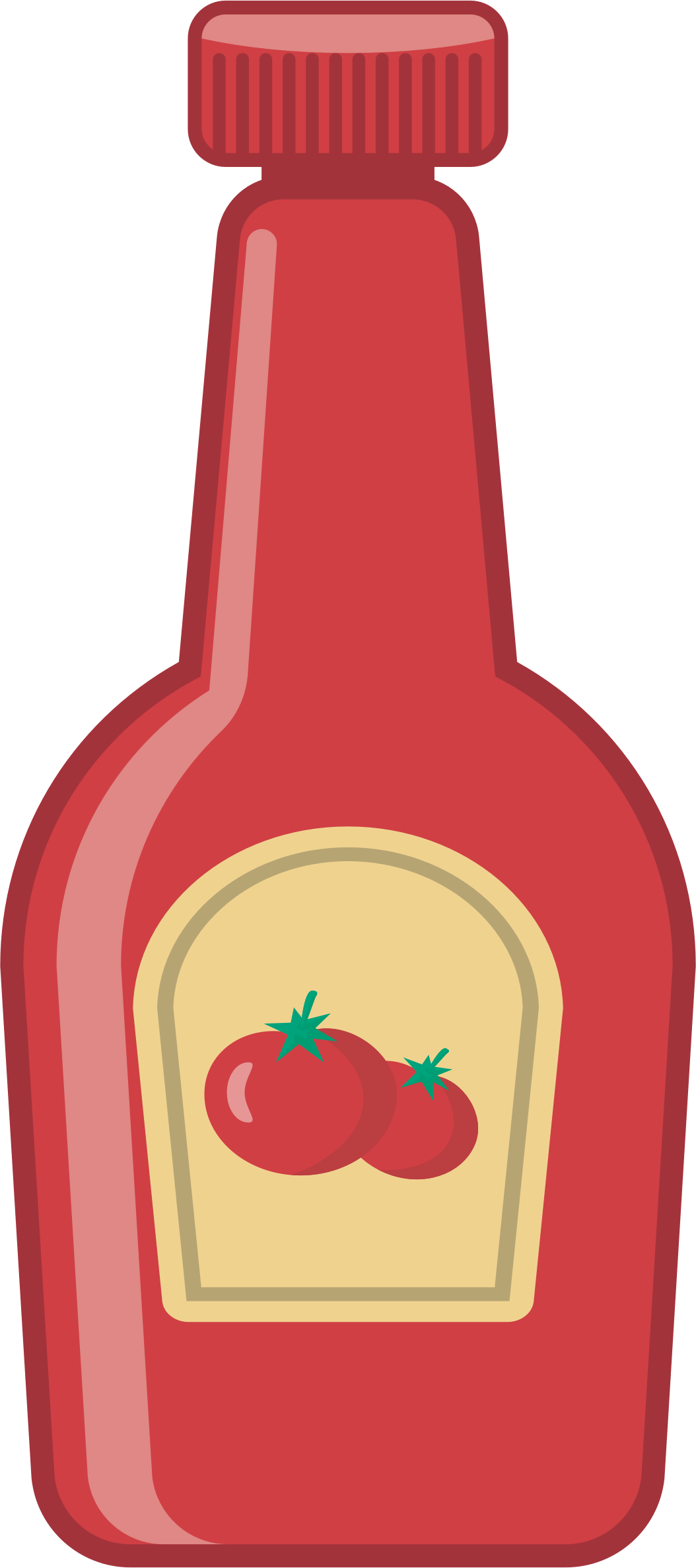 Ketchup Bottle by oksmith