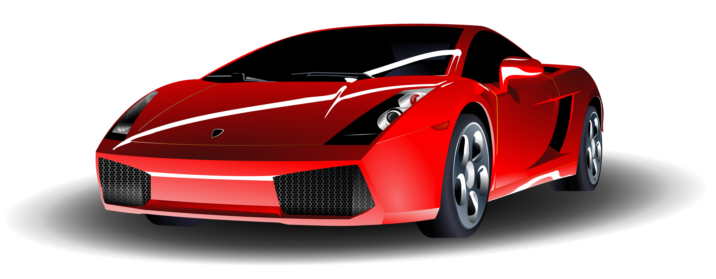 Red Sports Car by ryanlerch