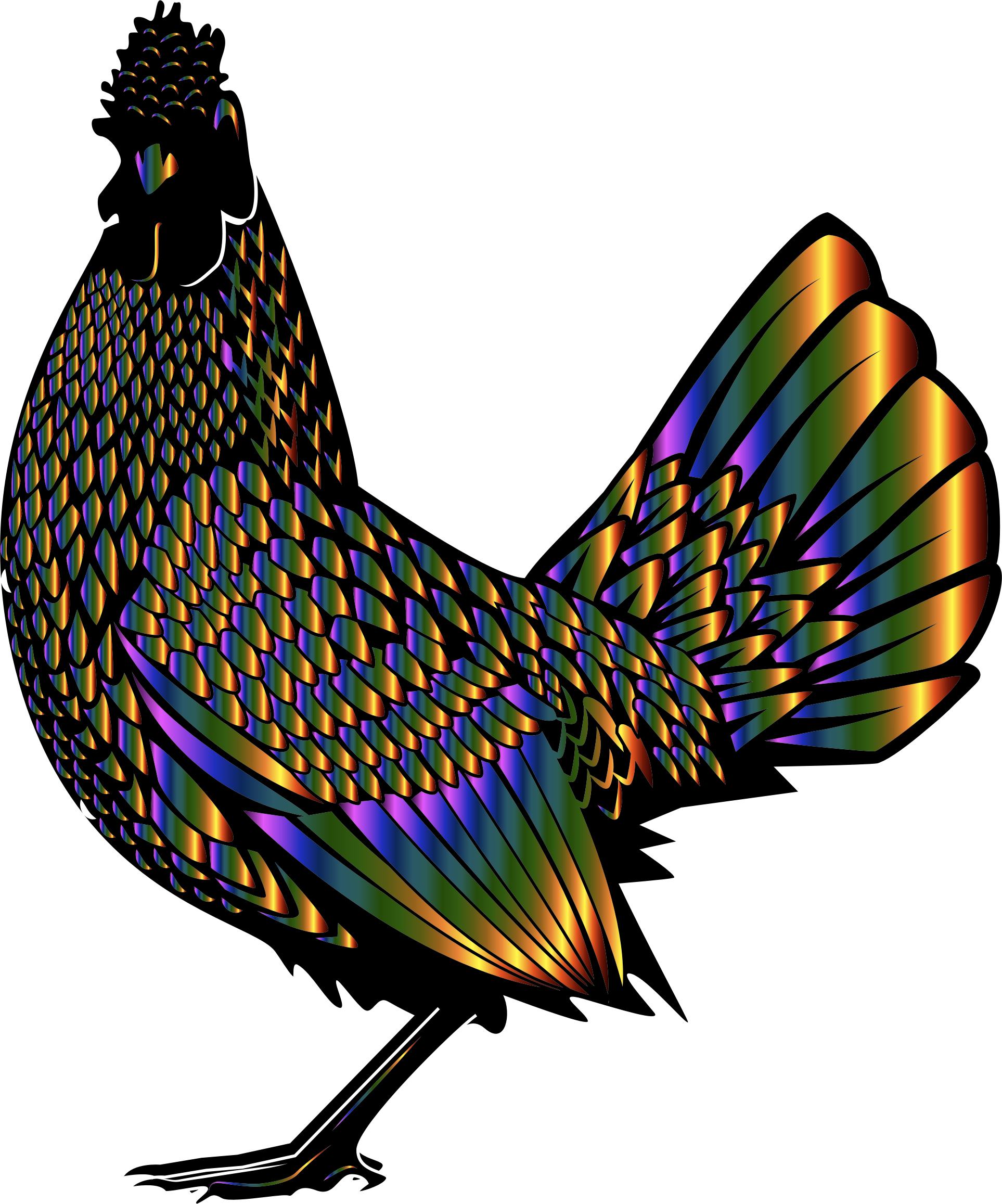 Chromatic Rooster by GDJ
