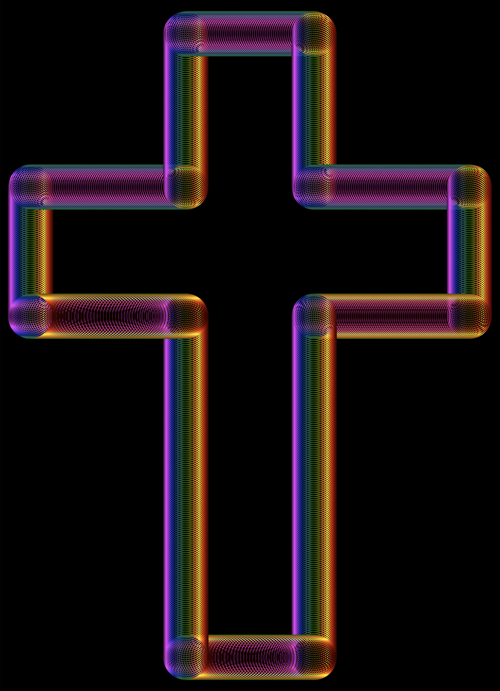 Cross Tubes Chromatic by GDJ