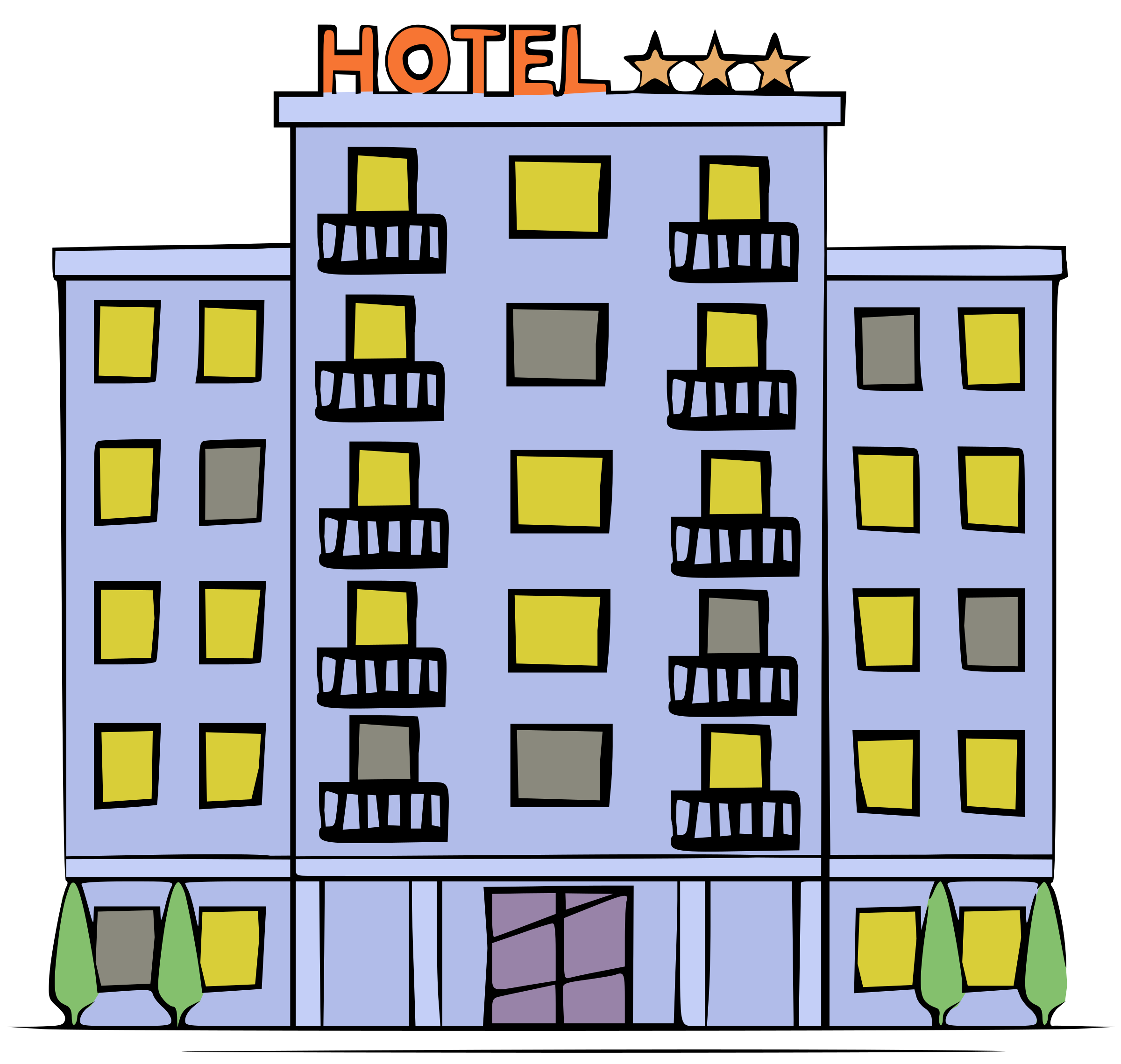 Hotel - Colour by j4p4n