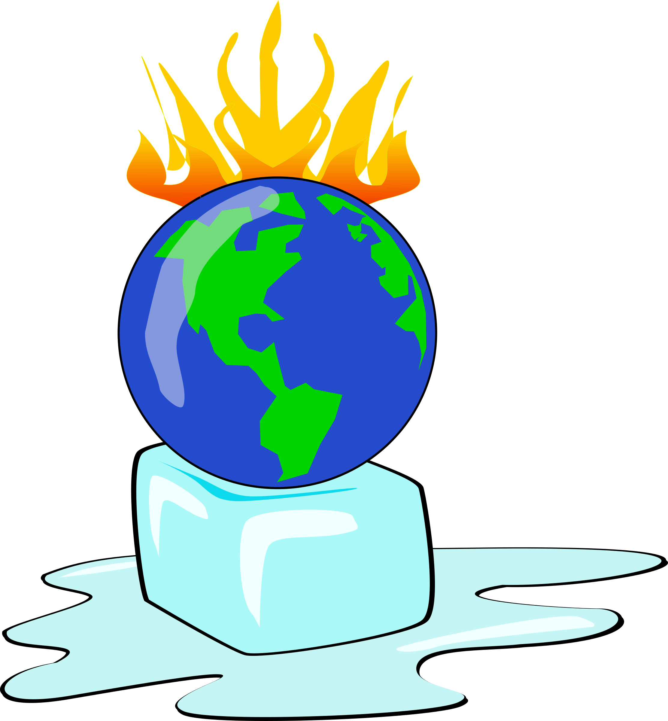 clipart global warming planet rh openclipart org global warming earth clipart cartoon global warming clipart