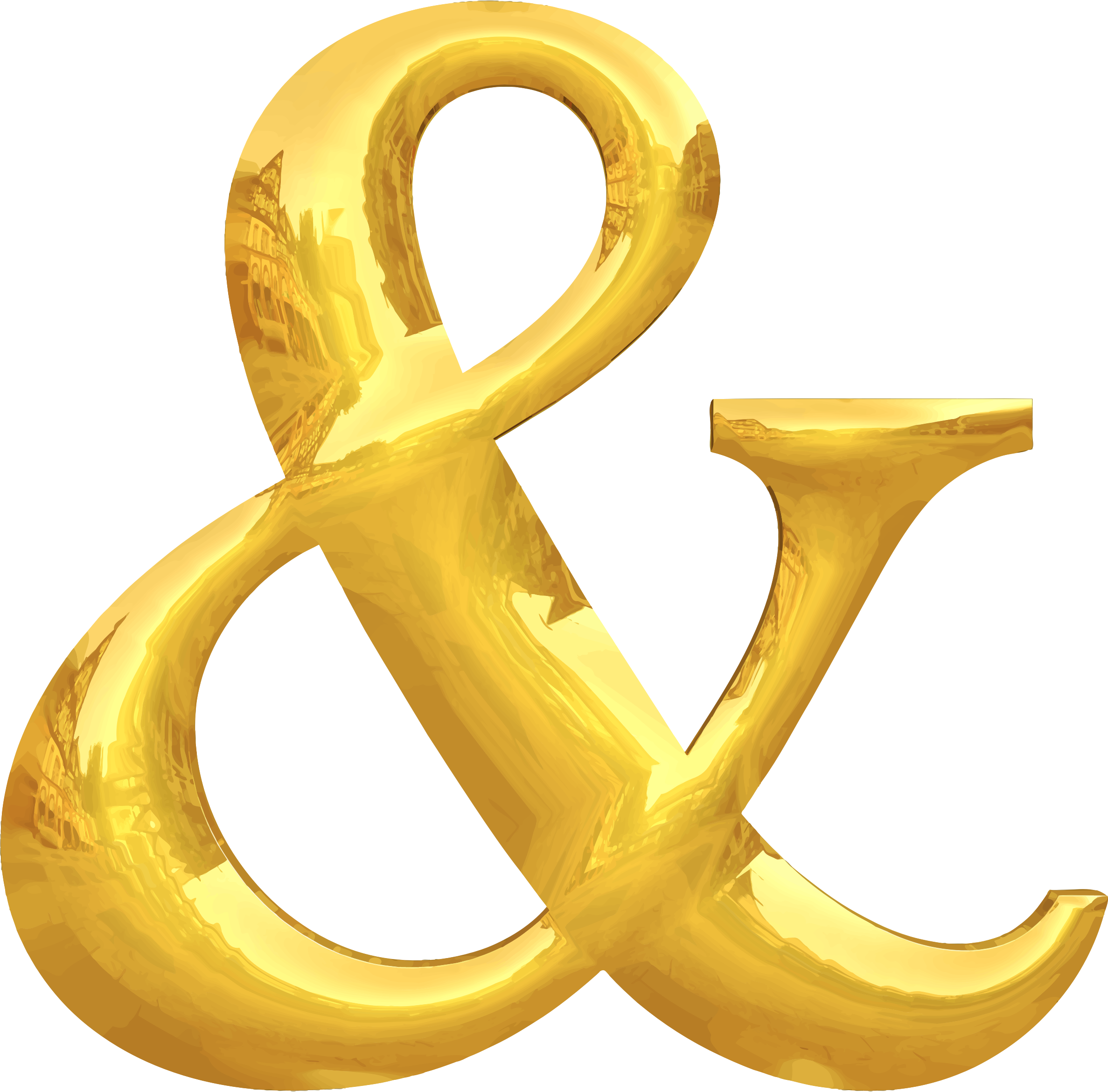 Gold typography & by Firkin