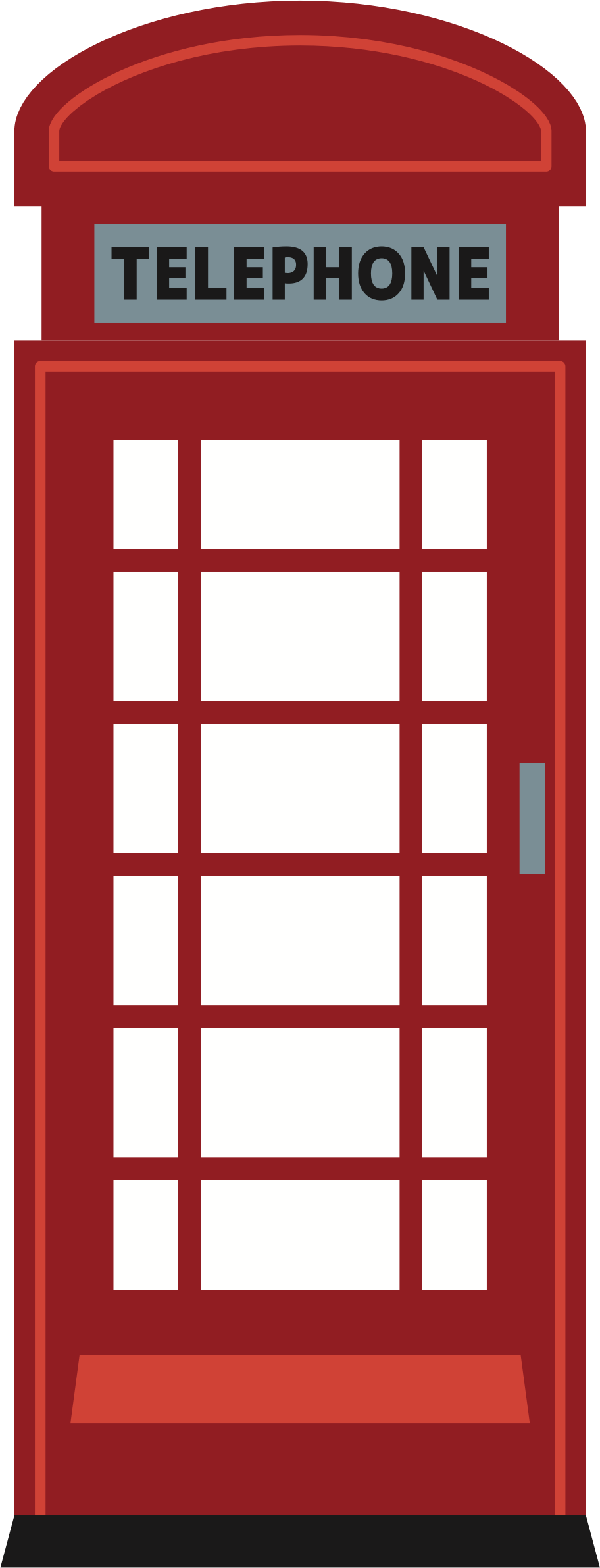 Red Telephone Box by oksmith