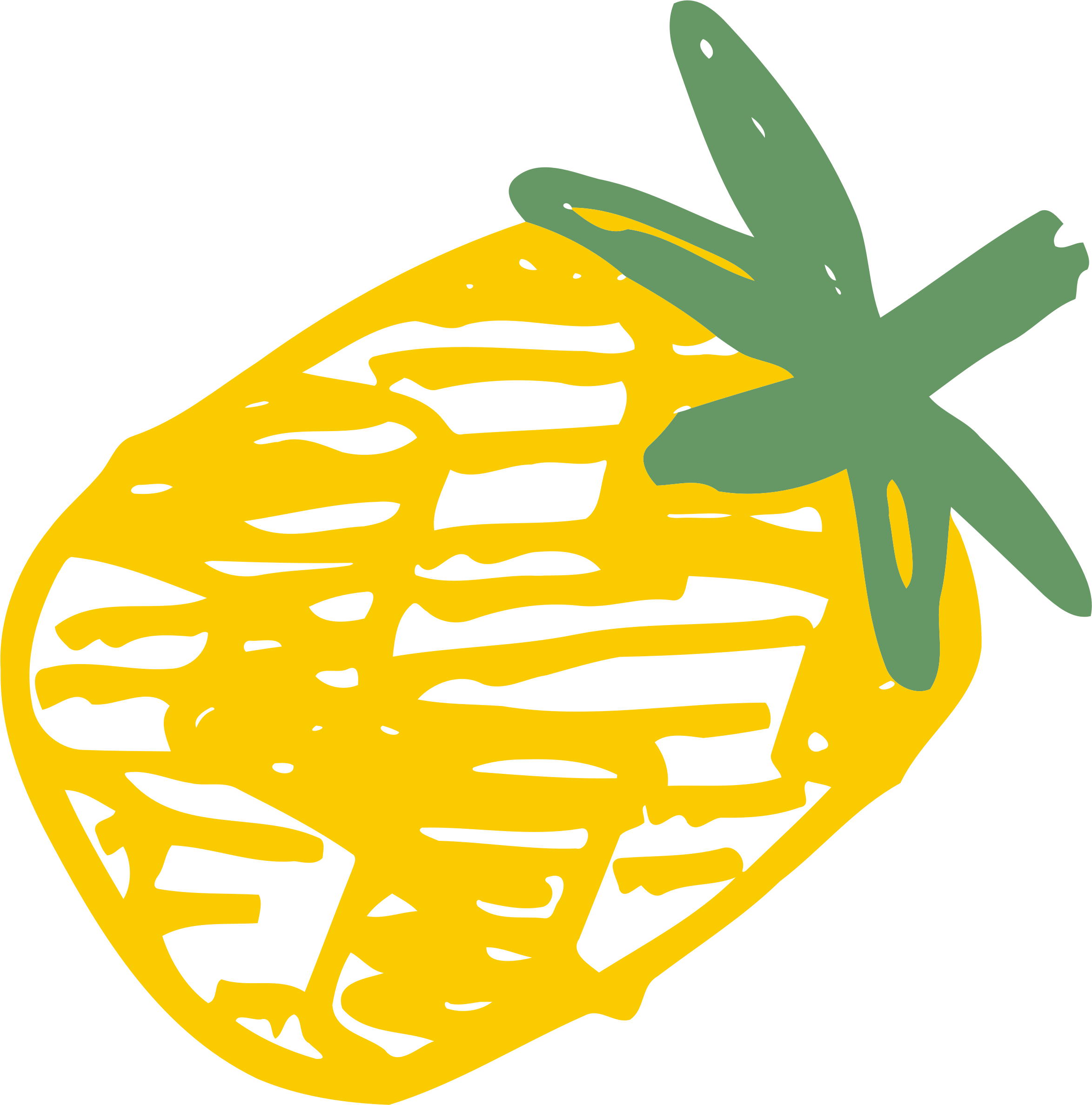 Sketched pineapple by Firkin