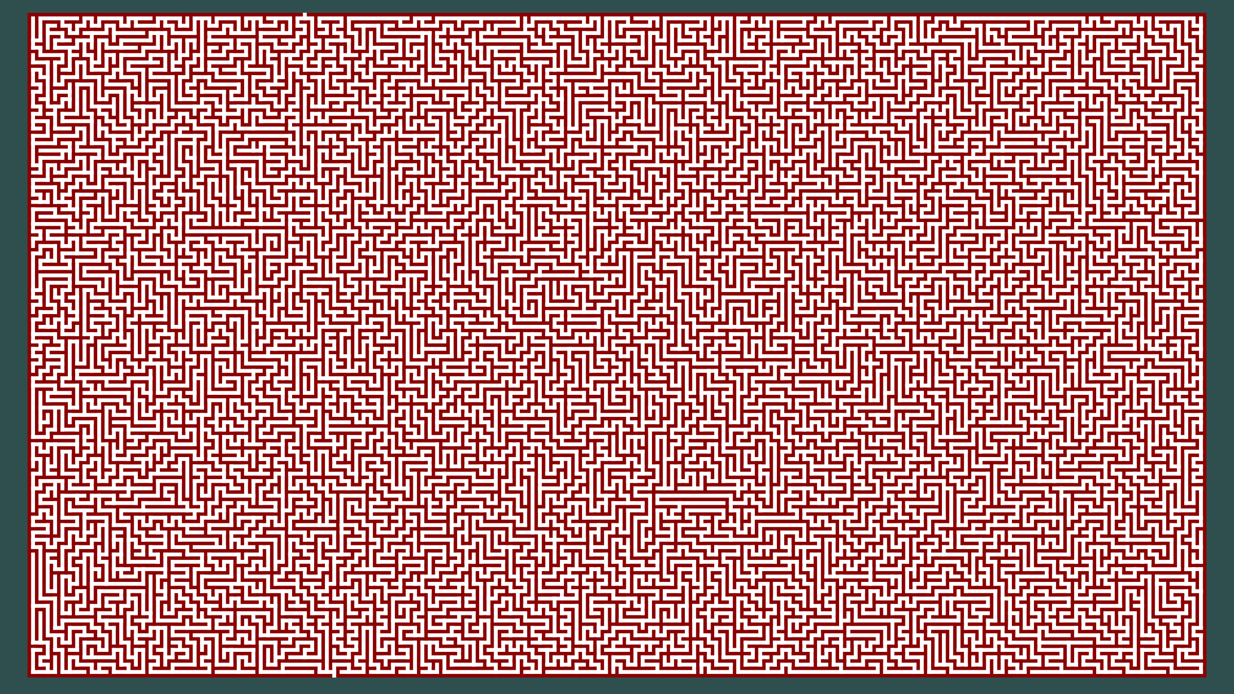 An HD Maze by AdamStanislav