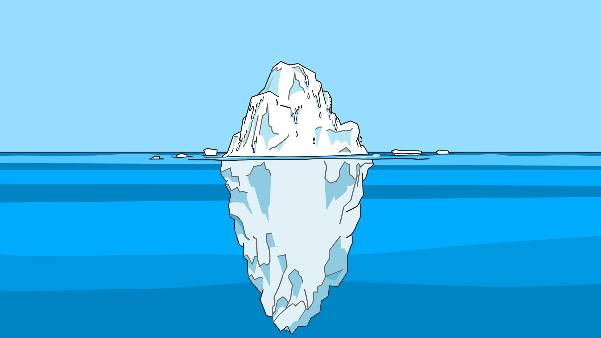Tip Of The Iceberg by GDJ