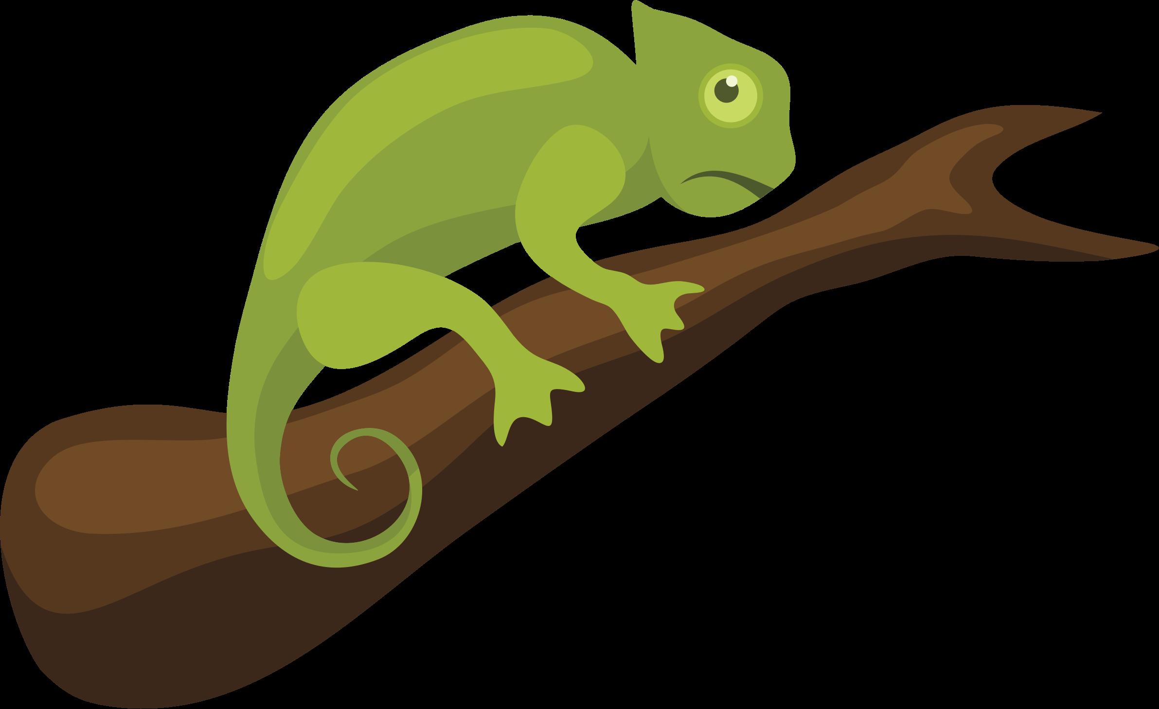 clipart - chameleon
