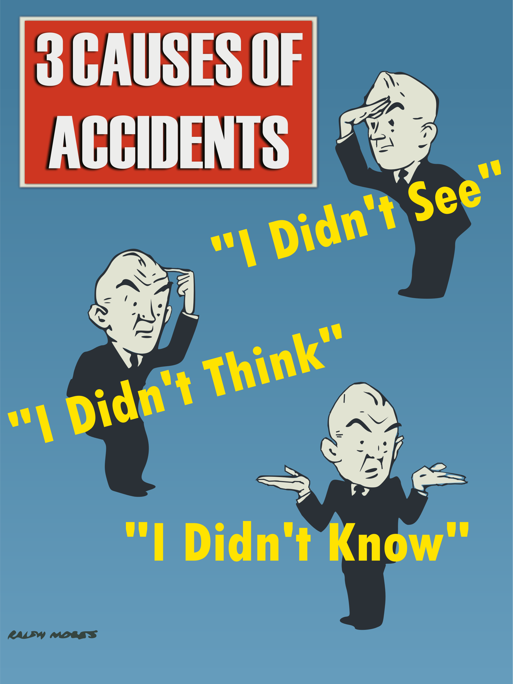 3 Causes of Accidents by pyCat