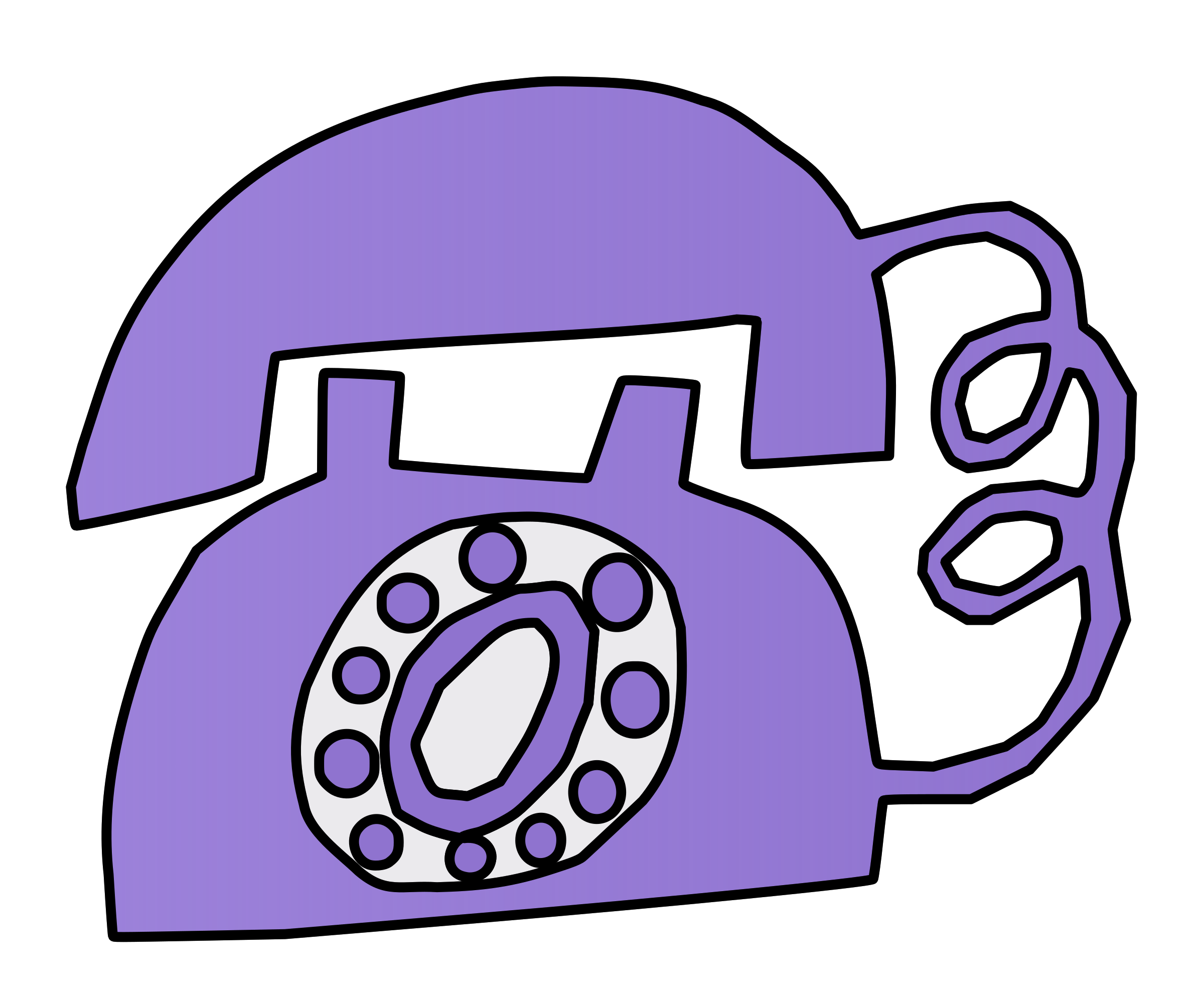Purple Phone by j4p4n