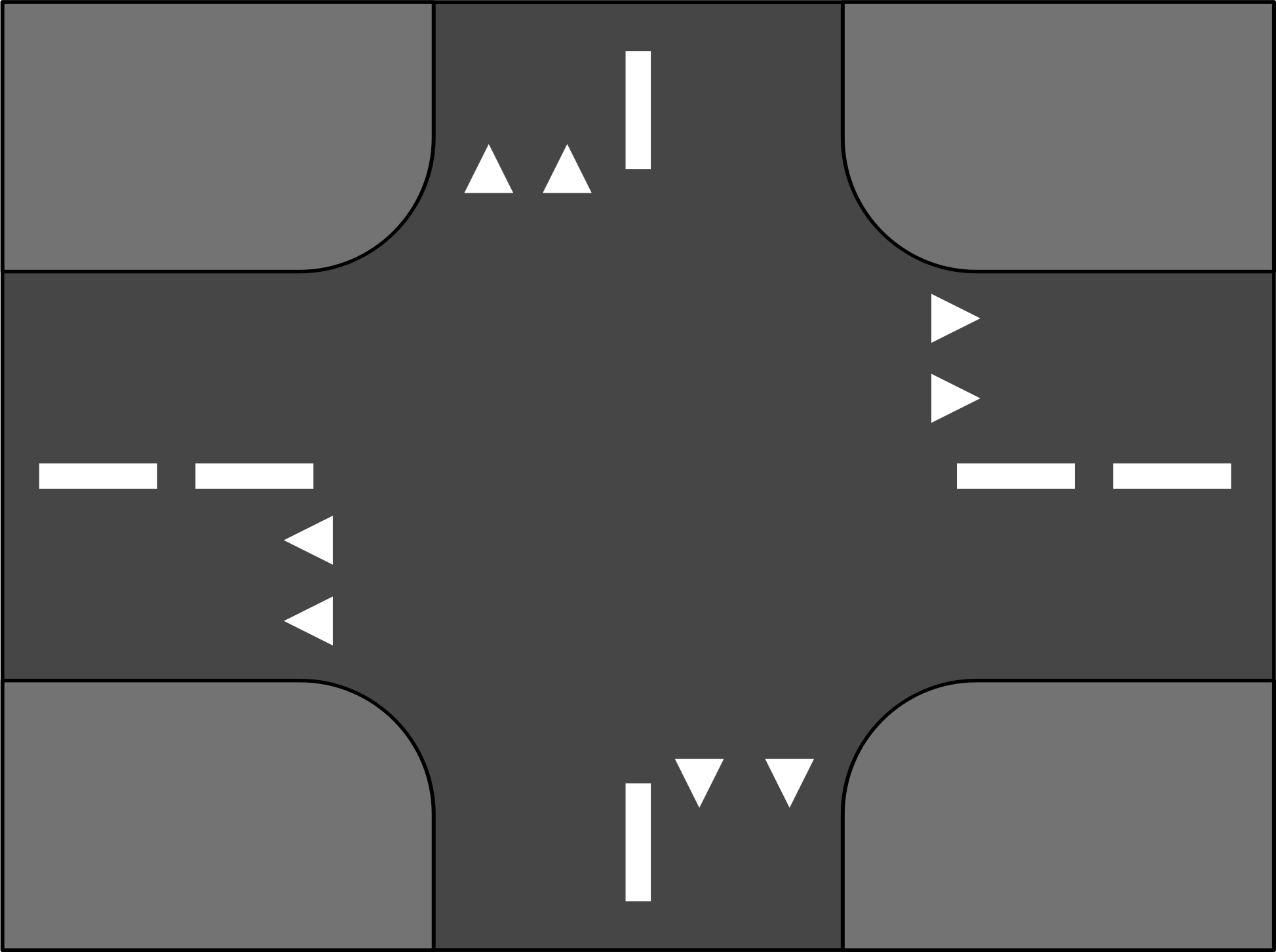 Road Crossing by MaSc