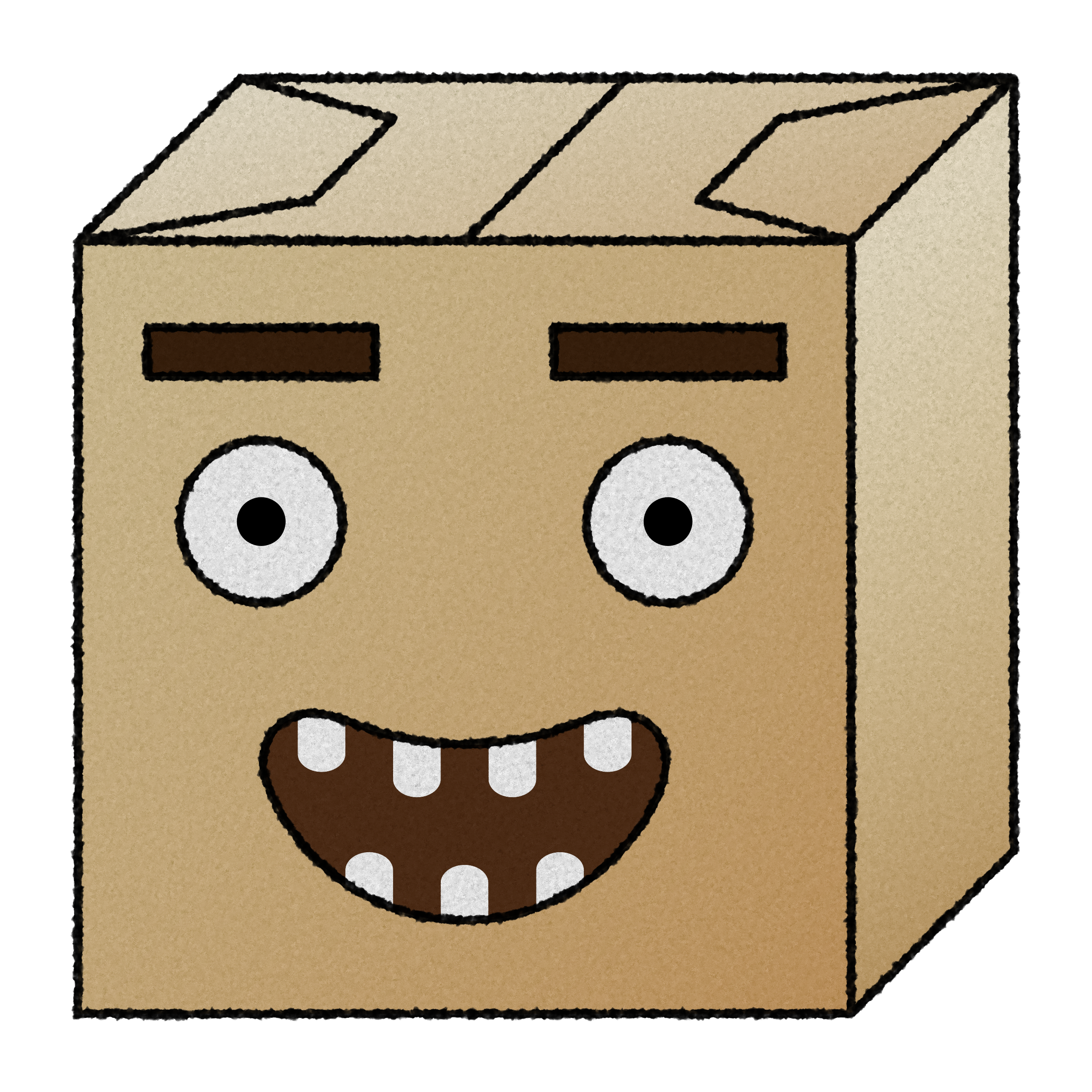 paper box head 4 by Lazur URH