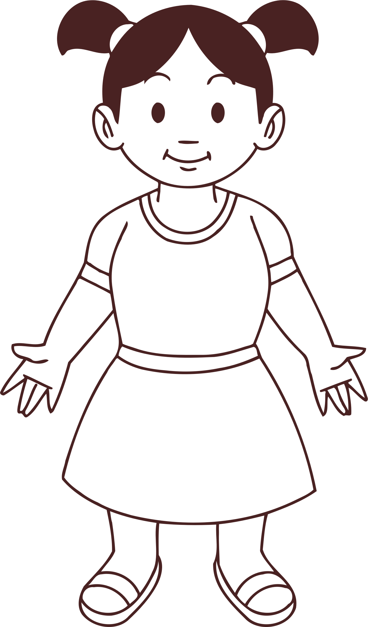 Child 20 (line drawing) by Firkin